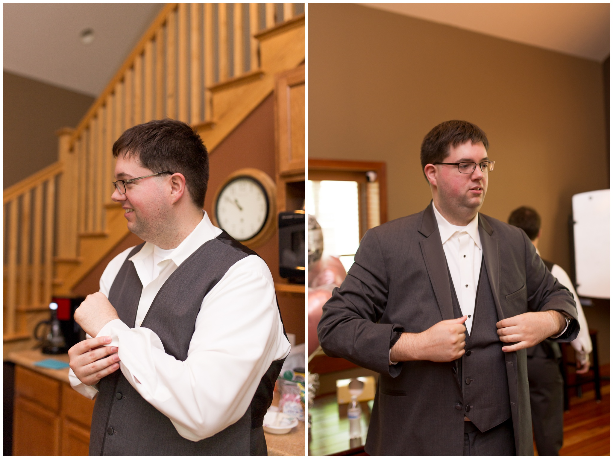 groom getting ready photos for Kokomo Indiana wedding