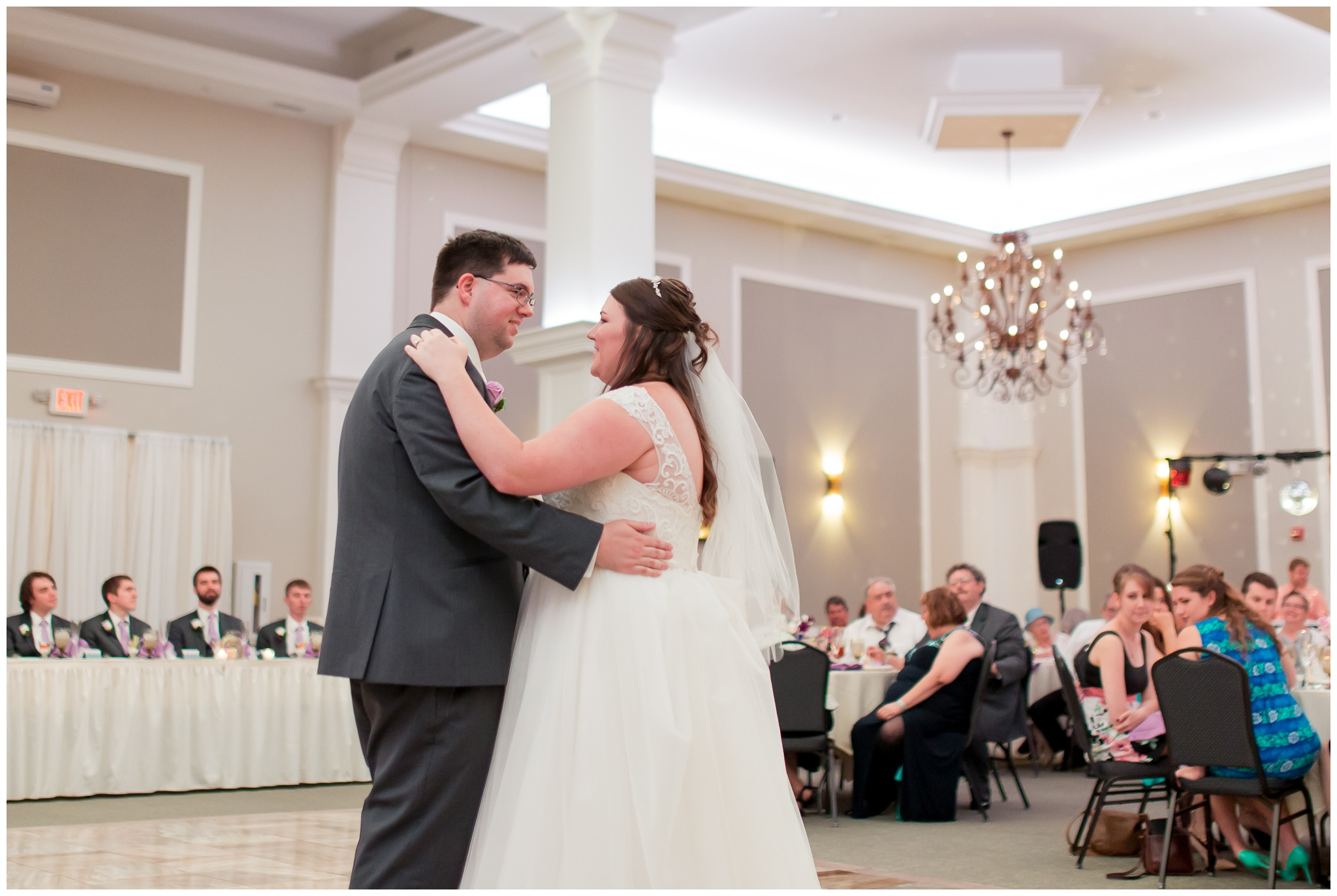 bride and groom first dance Bel Air Events Kokomo Indiana