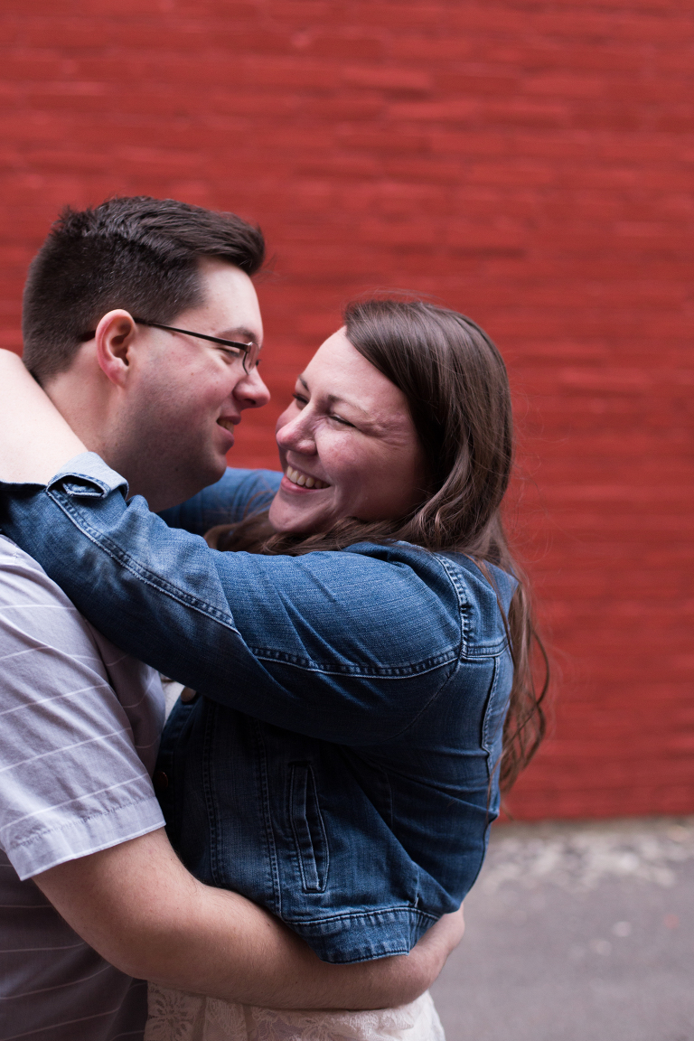 Downtown Kokomo Indiana Engagement session