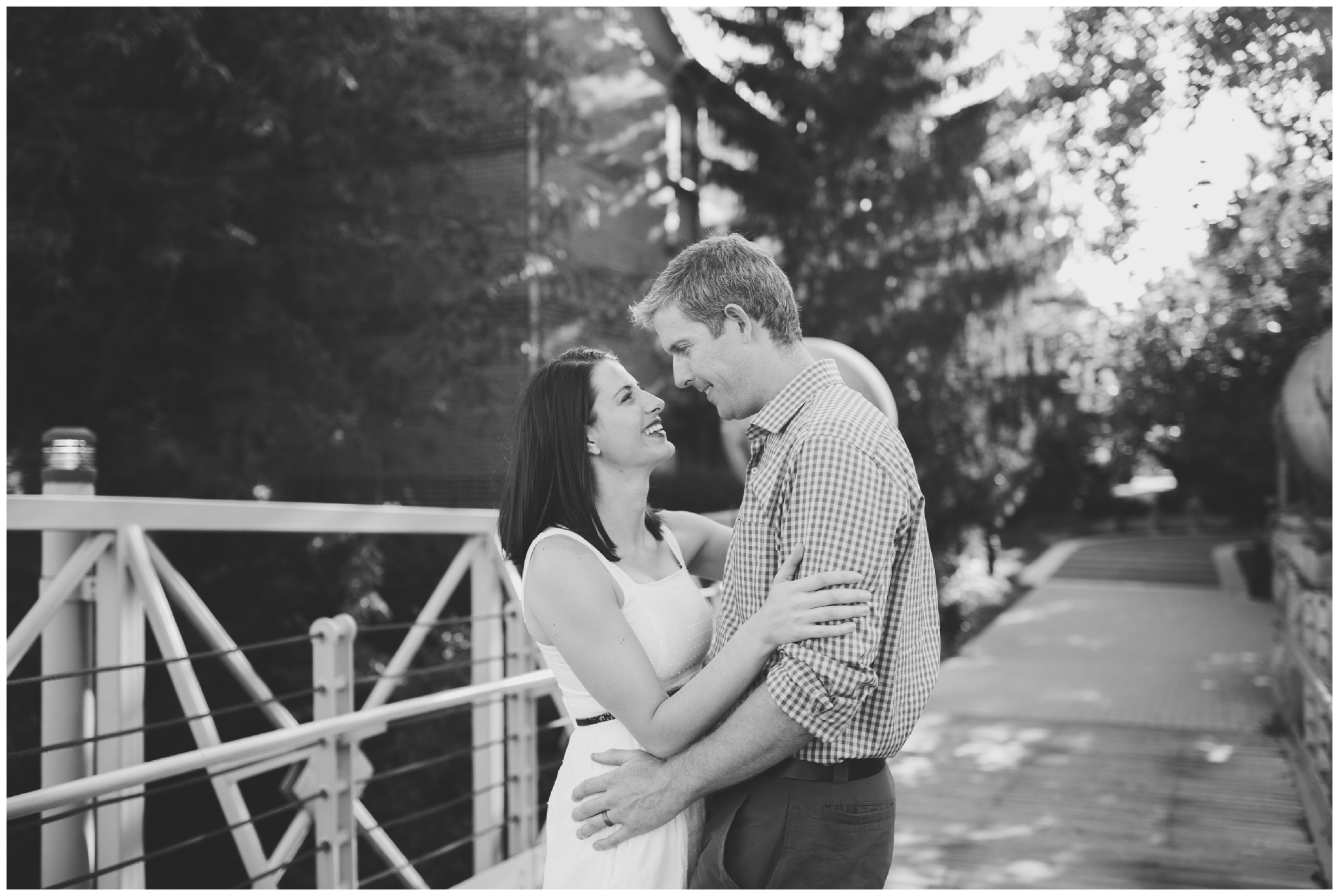 Downtown Indy Canal couples photo session