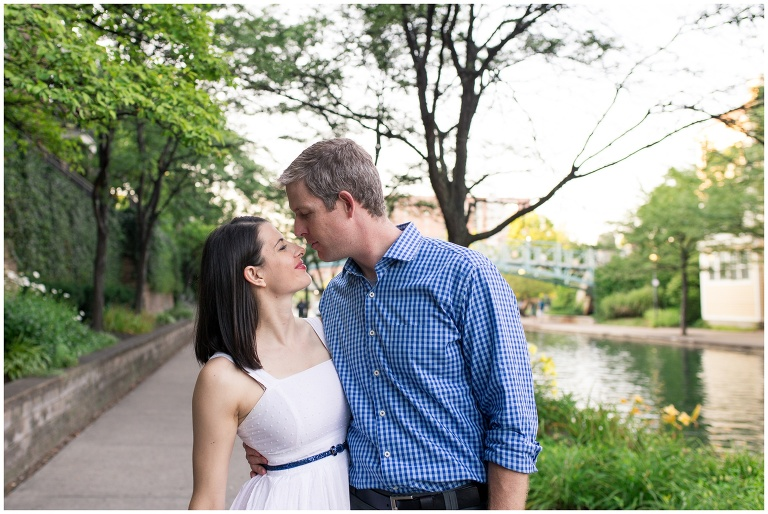 Indy Canal couples portraits