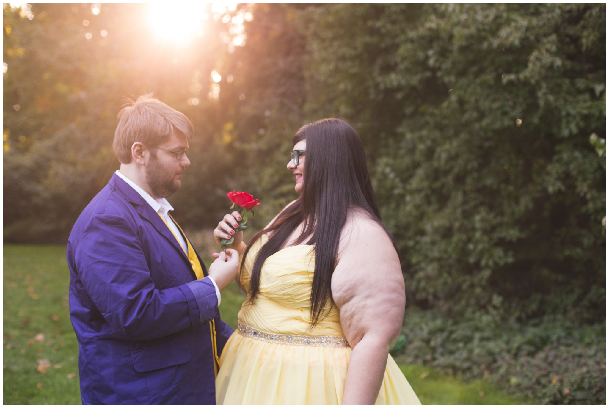 100 Acre Woods engagement session in downtown Indianapolis