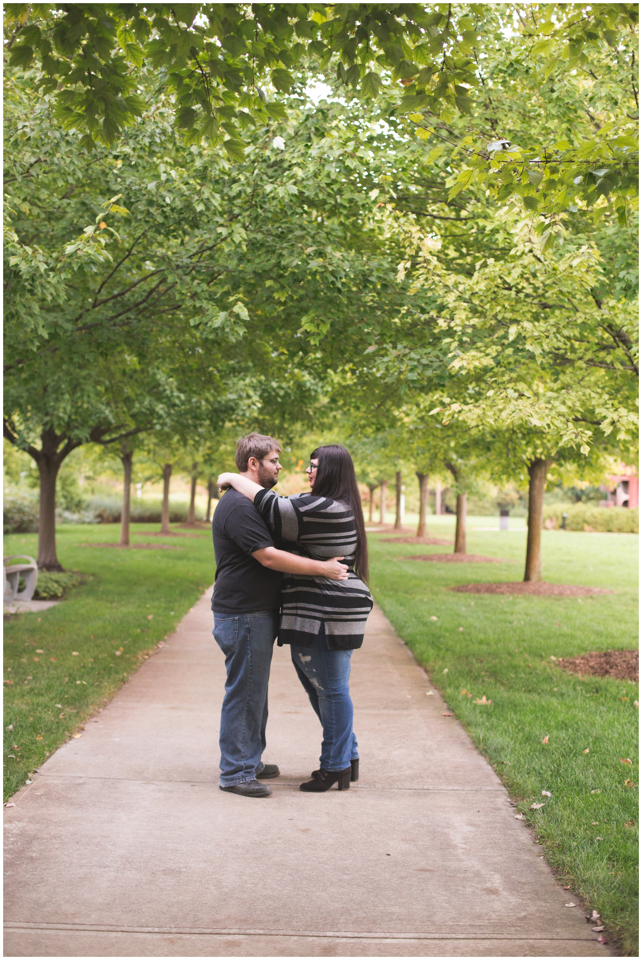 Indianapolis Museum of Art engagement session