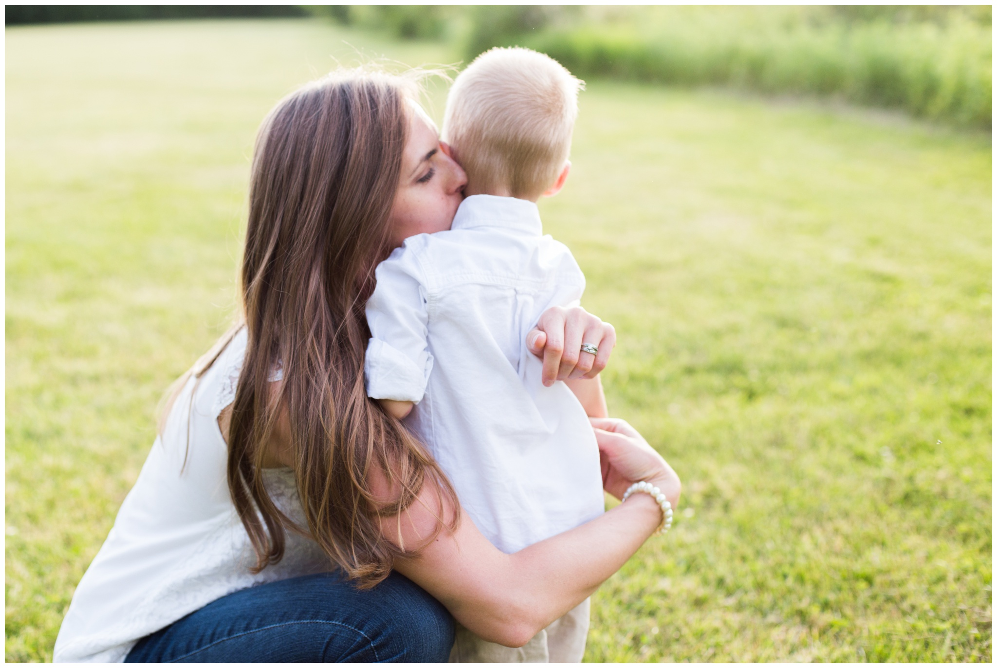 Potters Bridge Park family session in Noblesville, Indiana