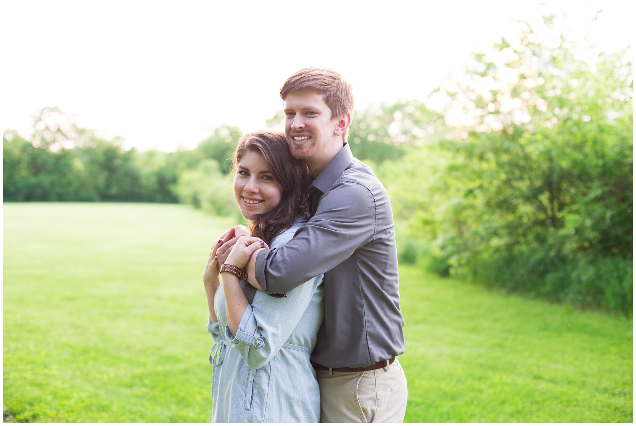 Potters Bridge Park engagement session in Noblesville Indiana