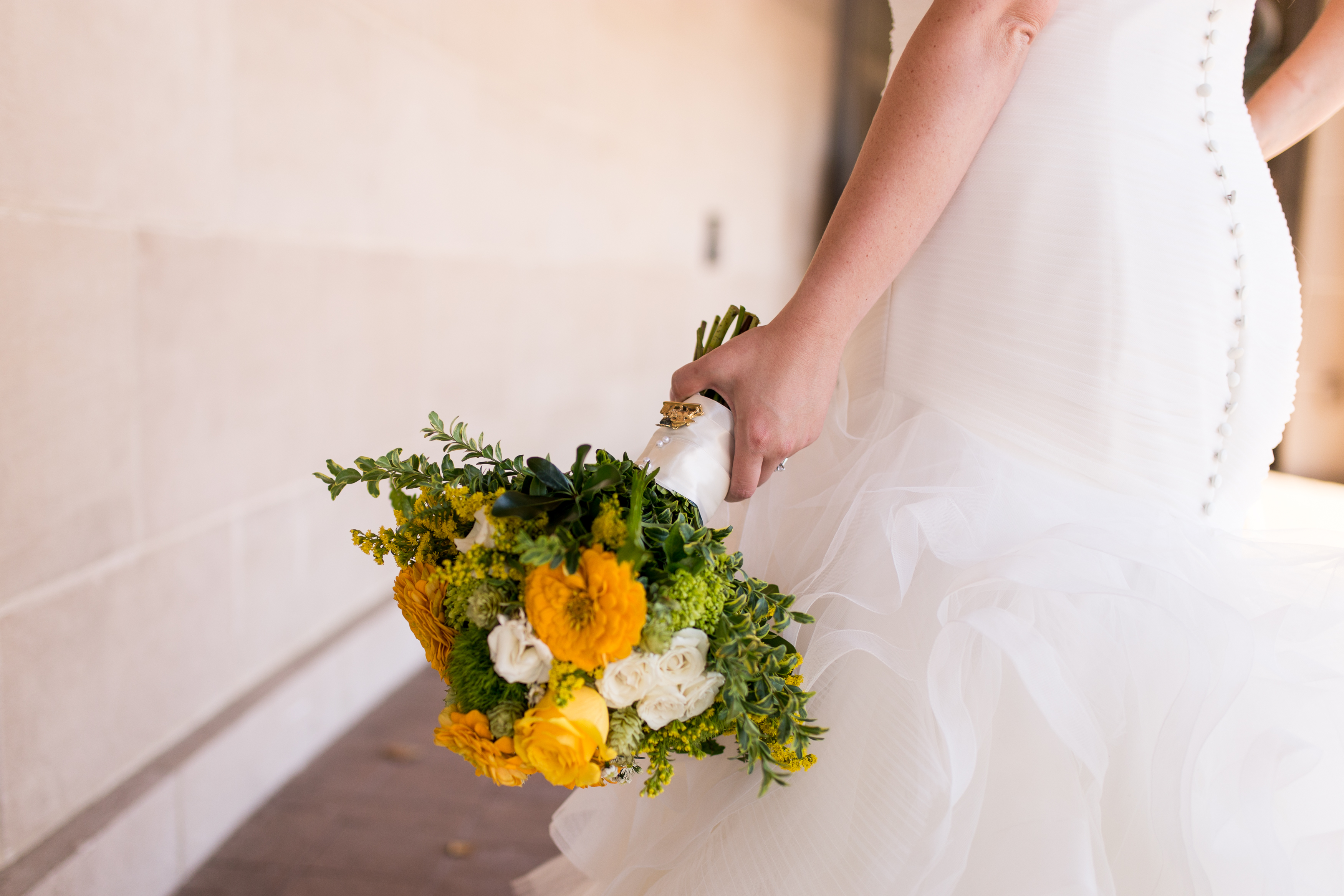 bridal bouquet from Dandelions Flowers and Gifts in Muncie Indiana wedding