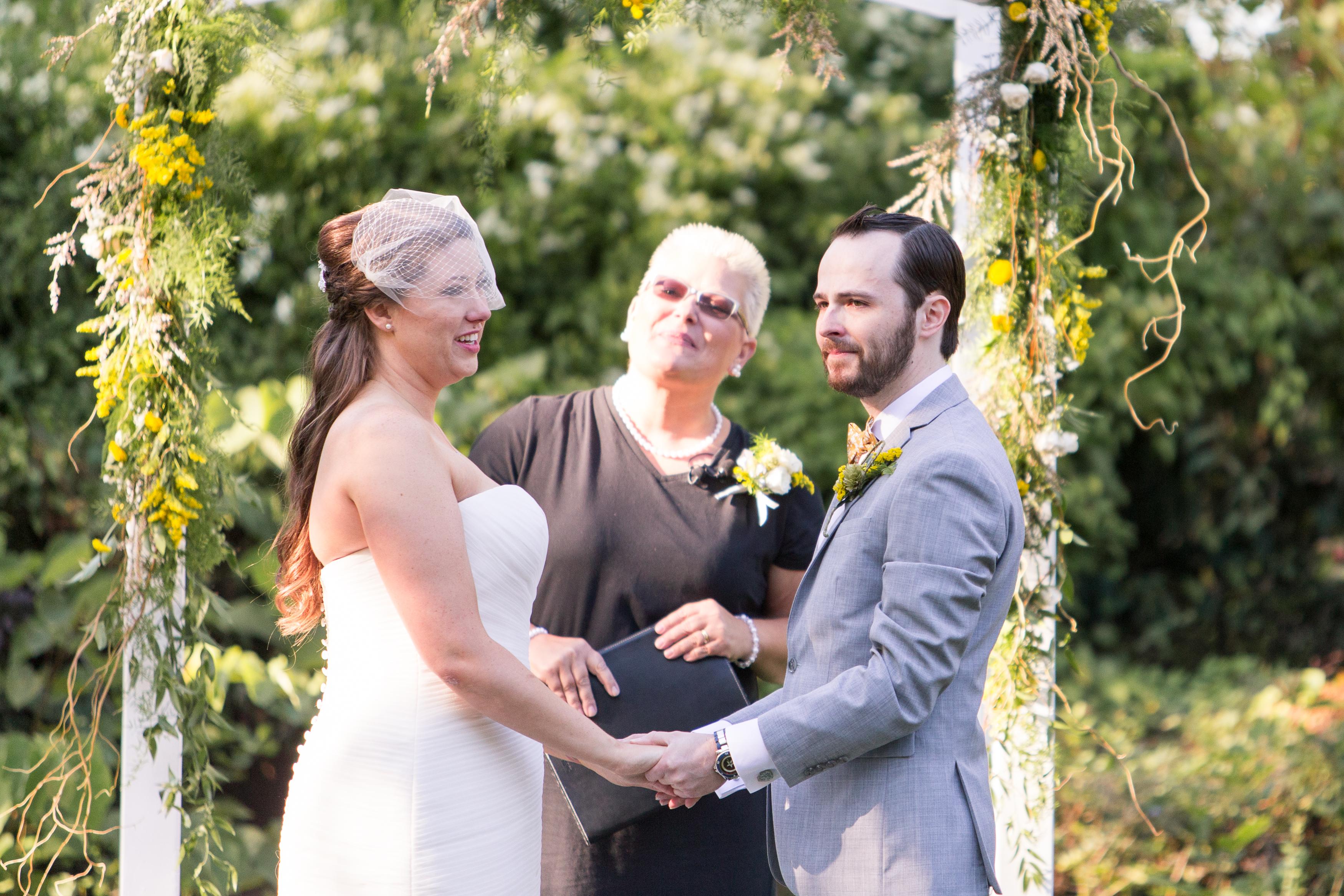Muncie Indiana wedding at Minnetrista Oakhurst Formal Gardens