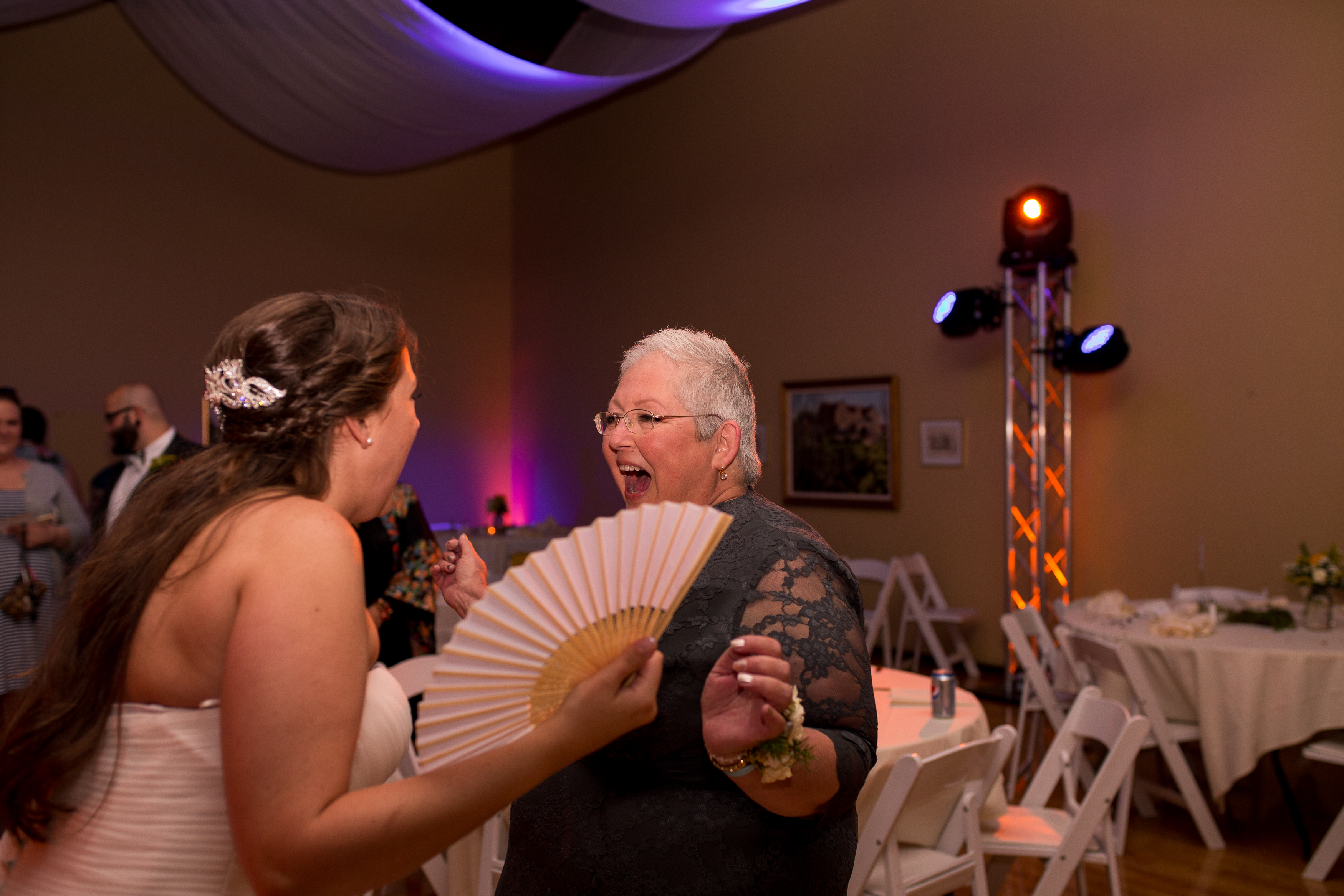 Muncie Indiana wedding photography reception dancing
