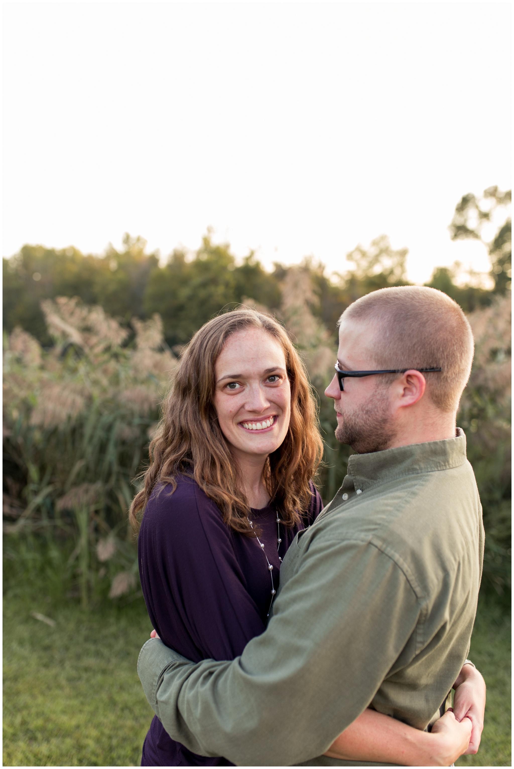 couples portraits at Wildcat Creek Reservoir Park in Kokomo Indiana