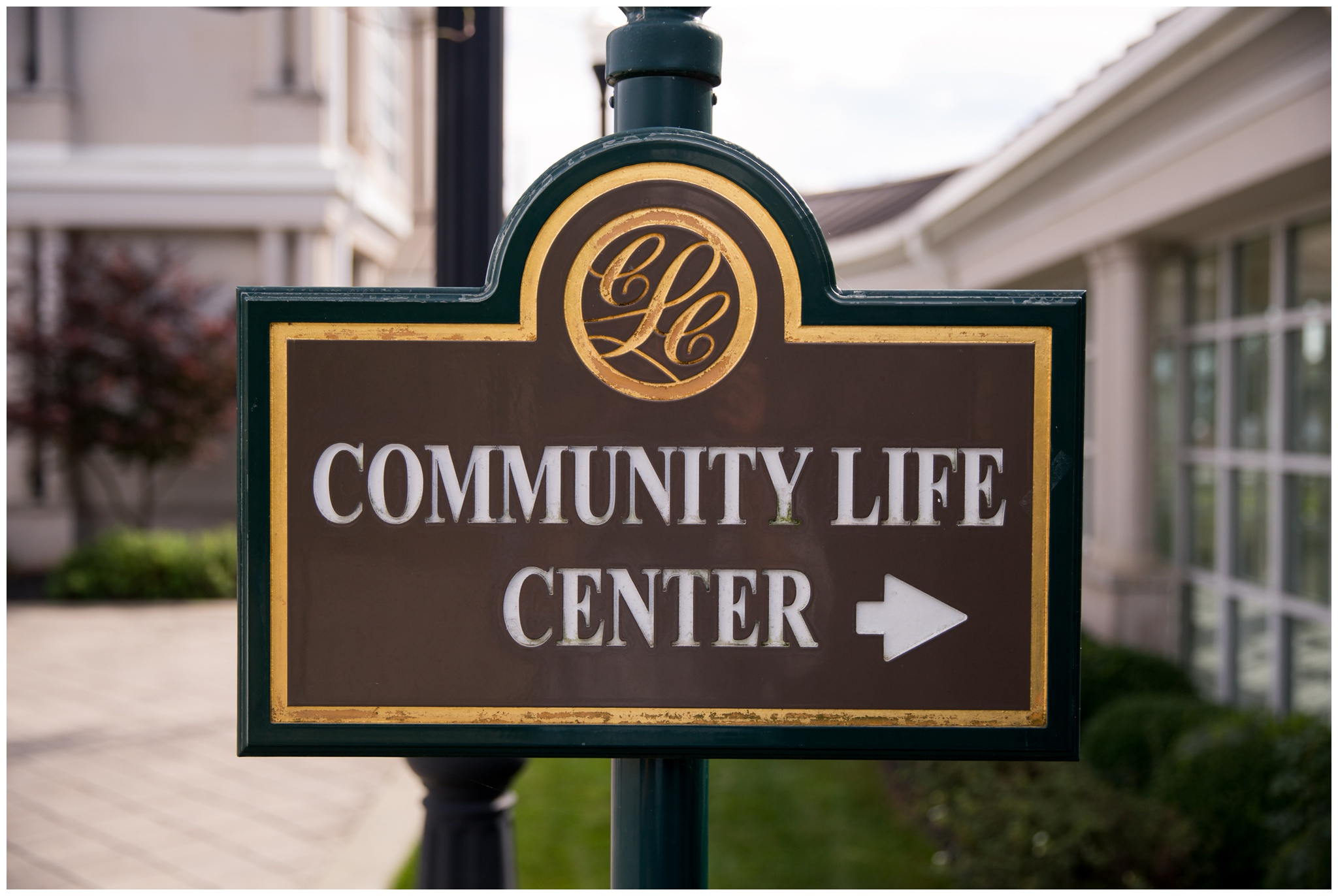 sign for Community Life Center in Indianapolis Indiana