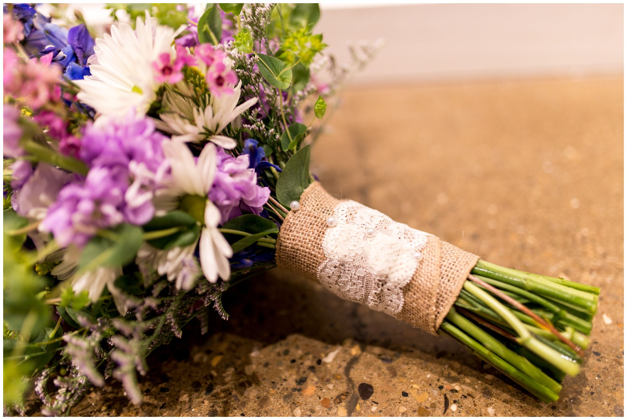 bride's bouquet details for Indianapolis wedding at Redeemer Presbyterian Church