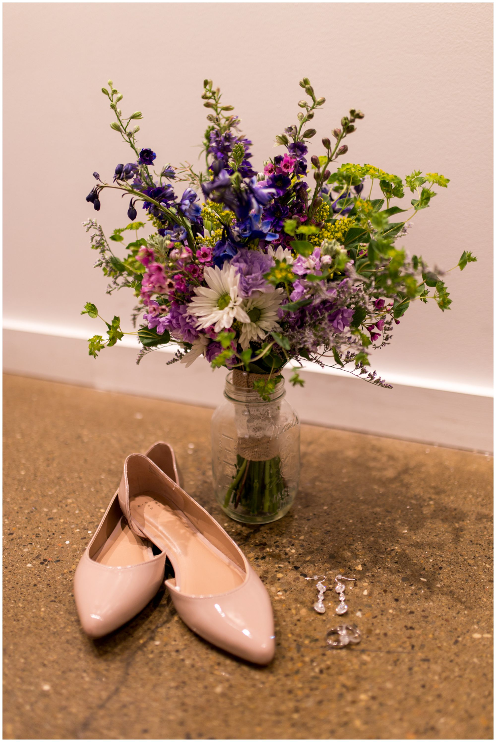 Downtown Indianapolis wedding details at Redeemer Presbyterian Church