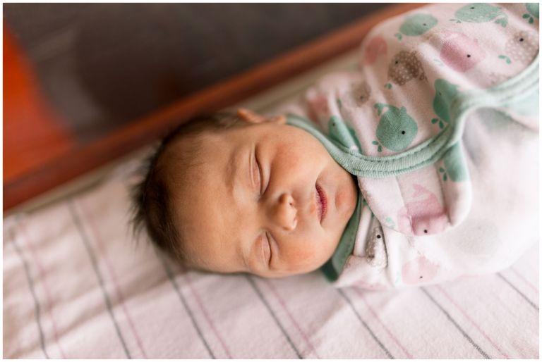 Community Howard Regional Health newborn session in Kokomo Indiana