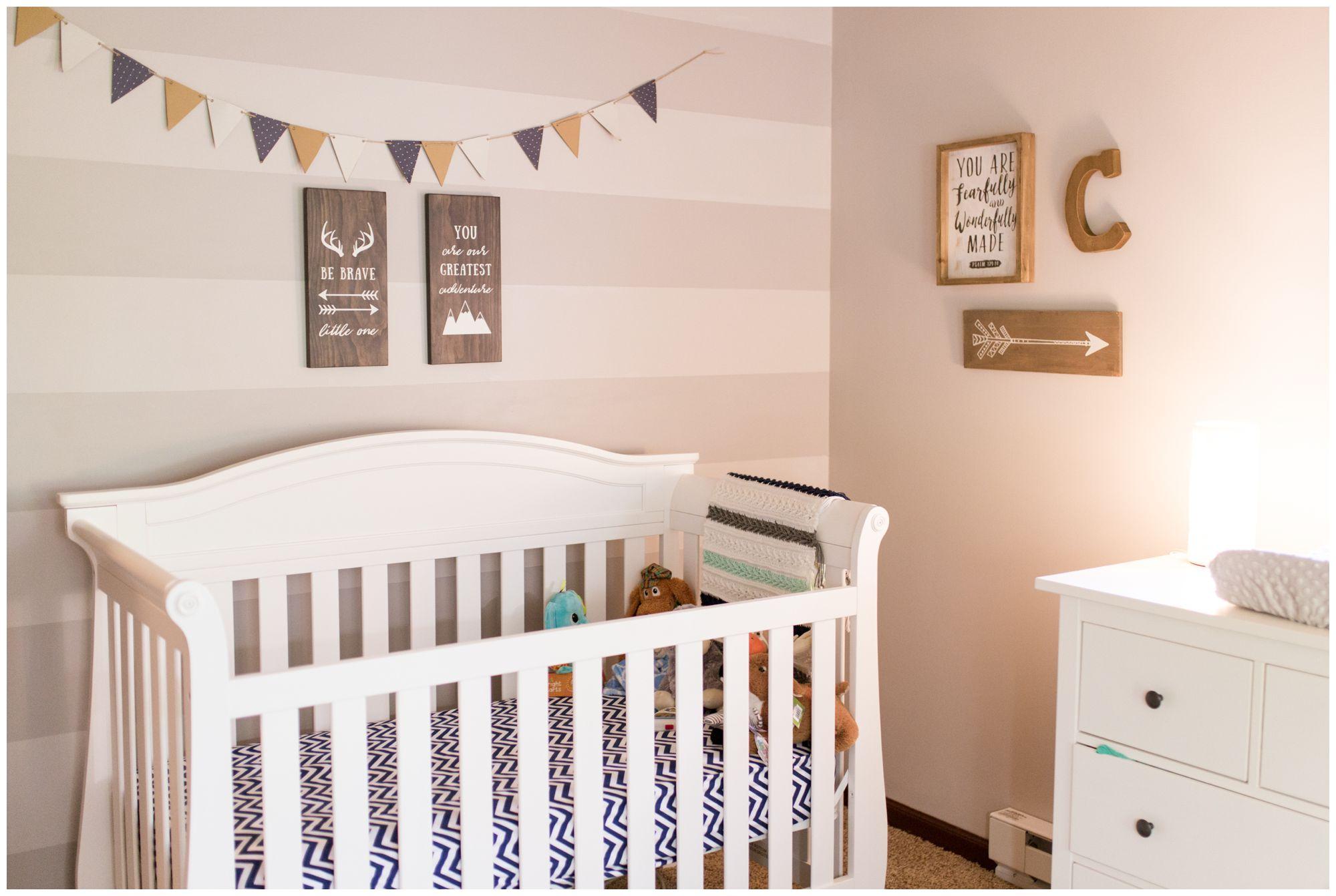 adventure theme nursery for Kokomo Indiana newborn session