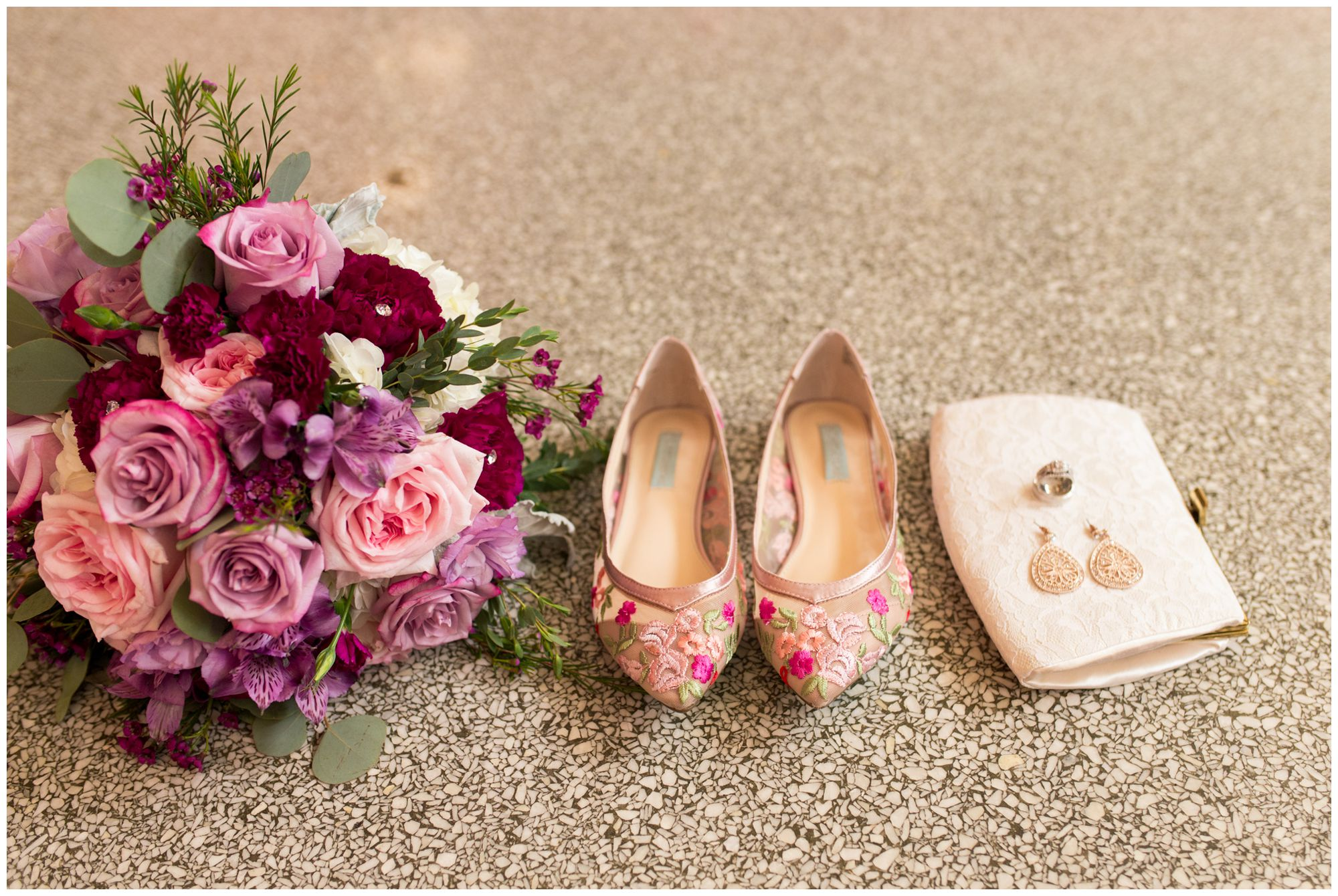bridal details at Charley Creek Inn in Wabash Indiana