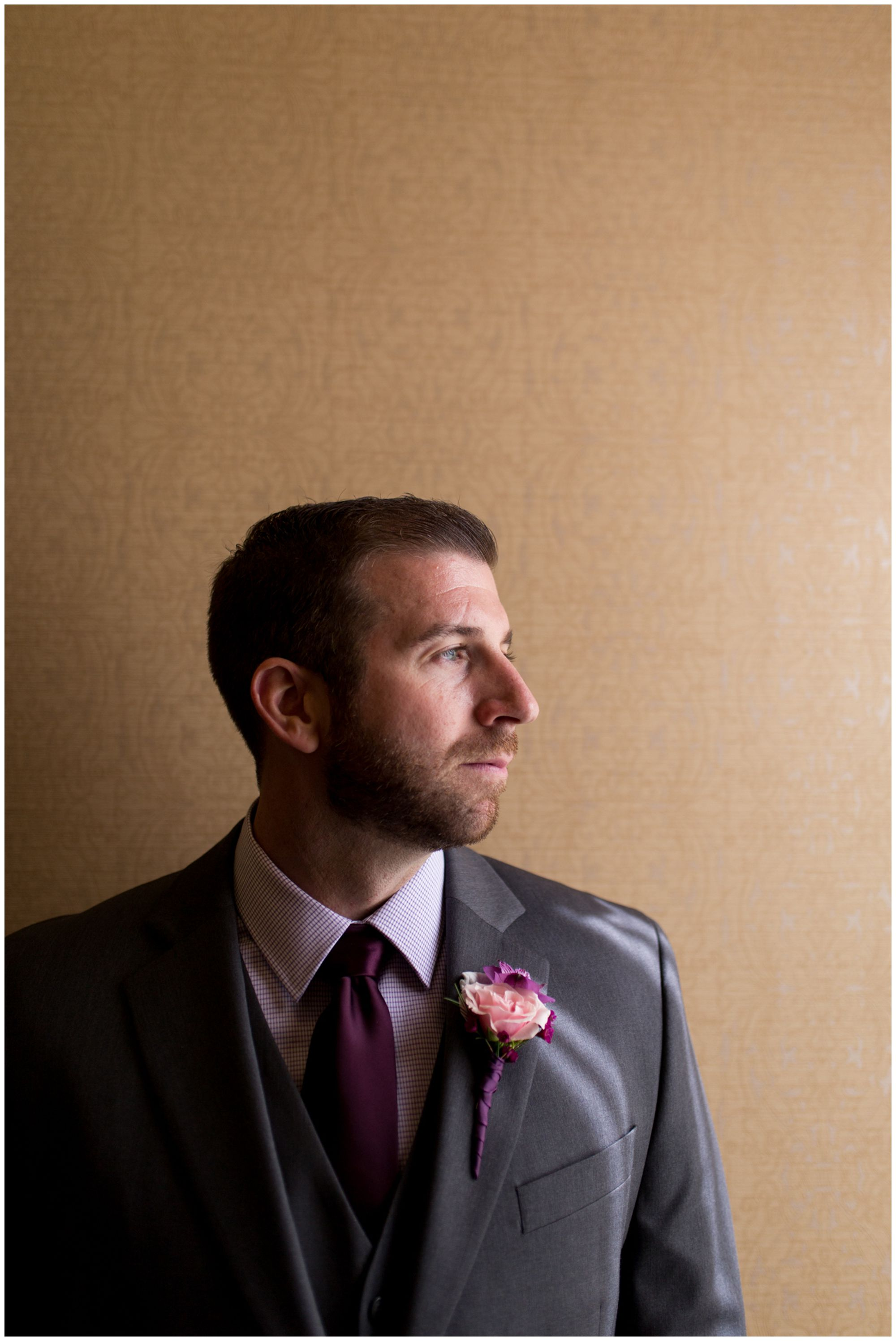 groom wedding portraits at Charley Creek Inn in Wabash Indiana