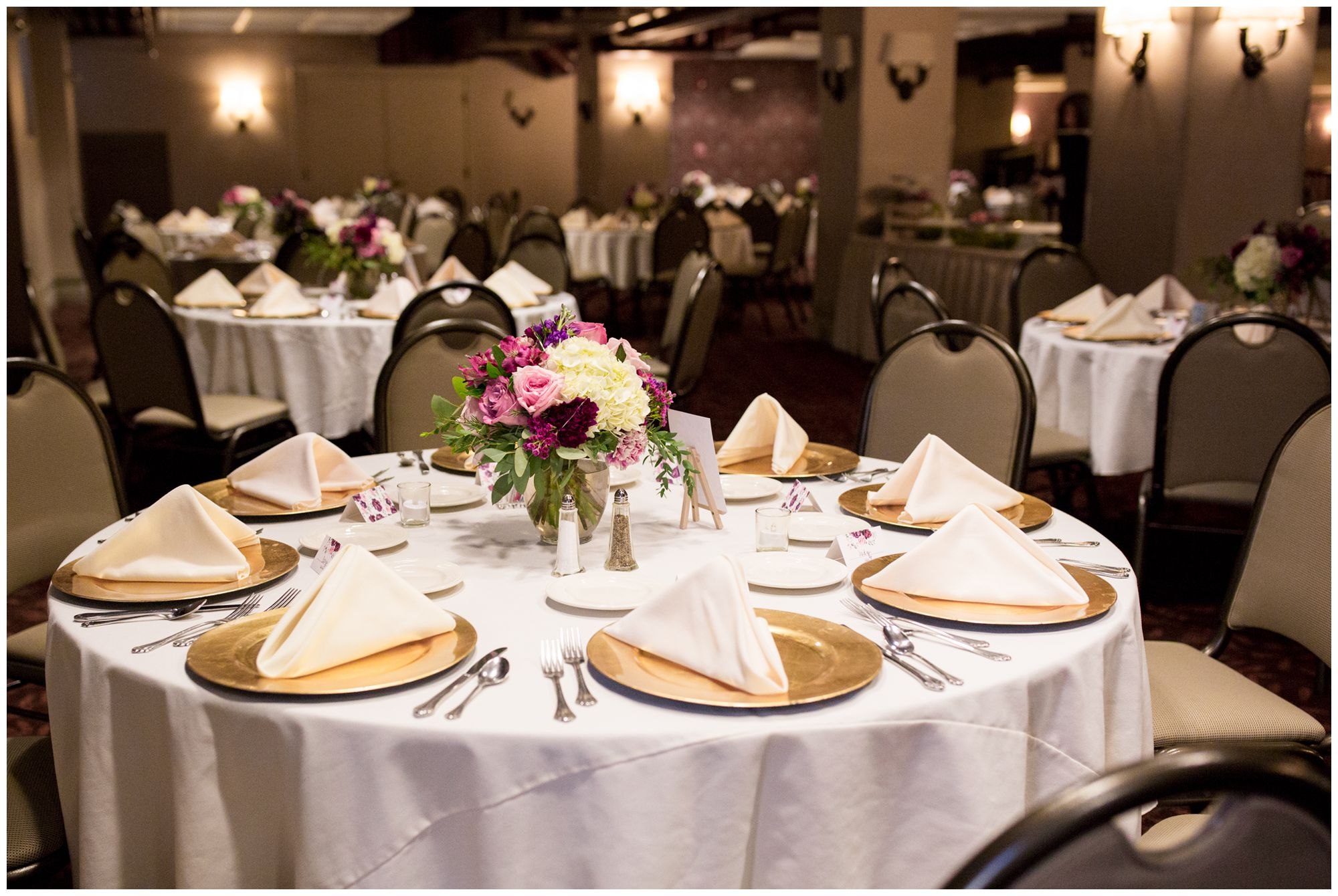 Charley Creek Inn Wabash Indiana wedding reception