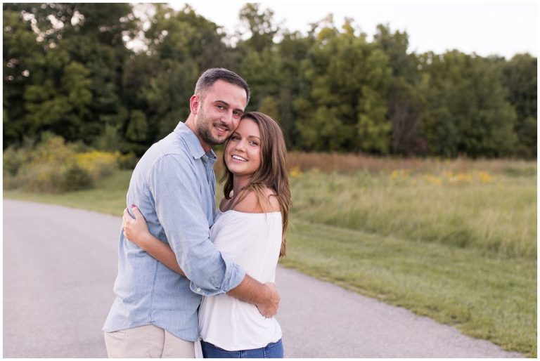 Fort Wayne engagement session at Matea County Park in Fort Wayne Indiana