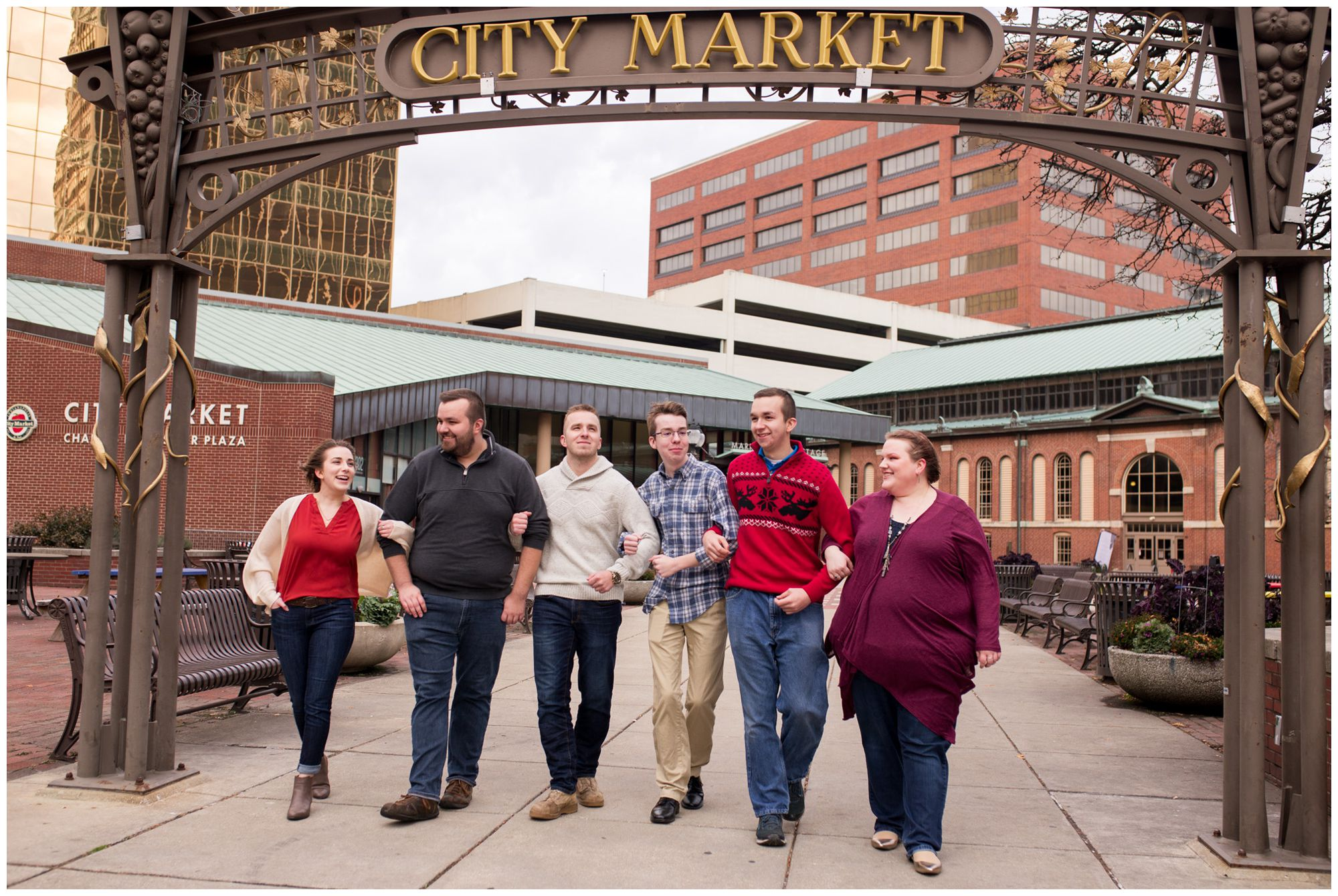 City Market downtown Indianapolis family session