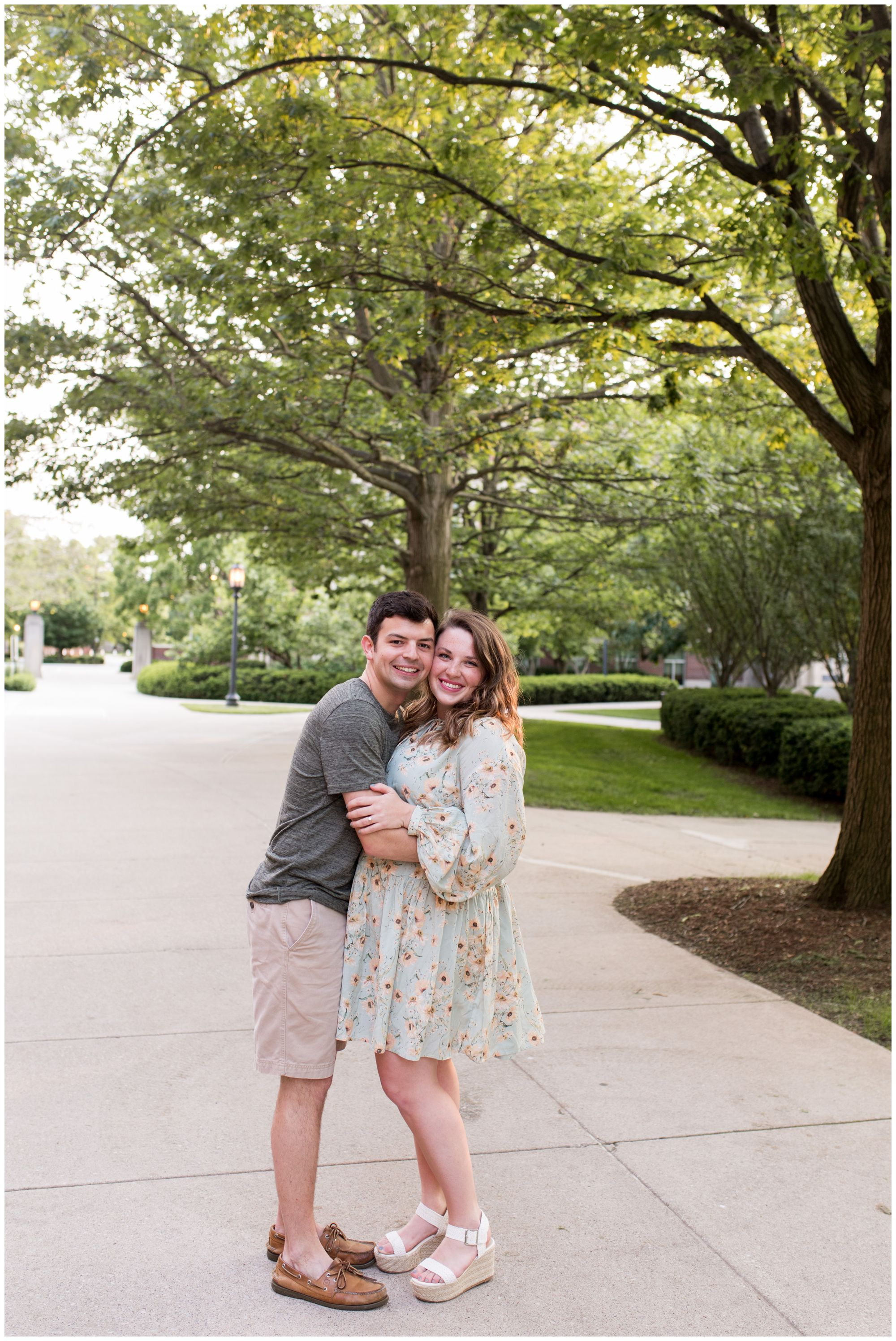 Purdue University engagement session photographer in West Lafayette, Indiana