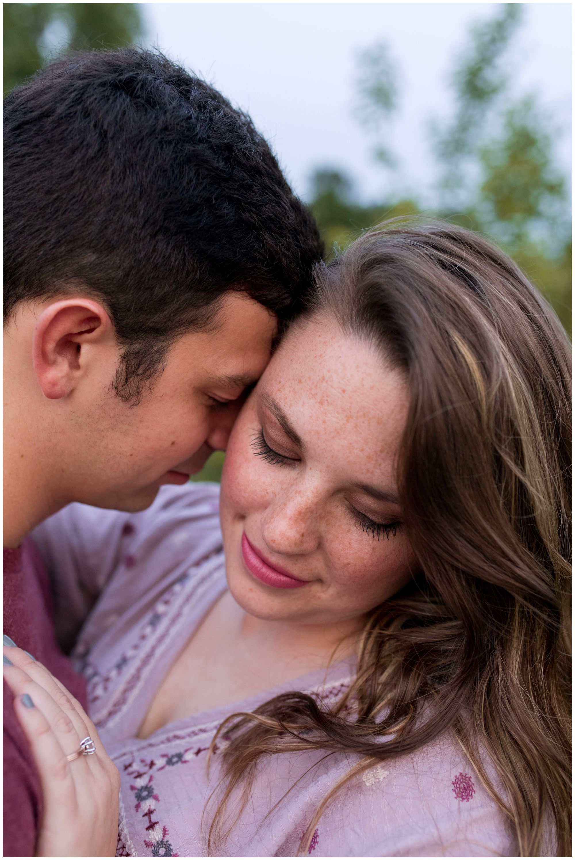 Lafayette Indiana engagement session at Prophetstown State Park