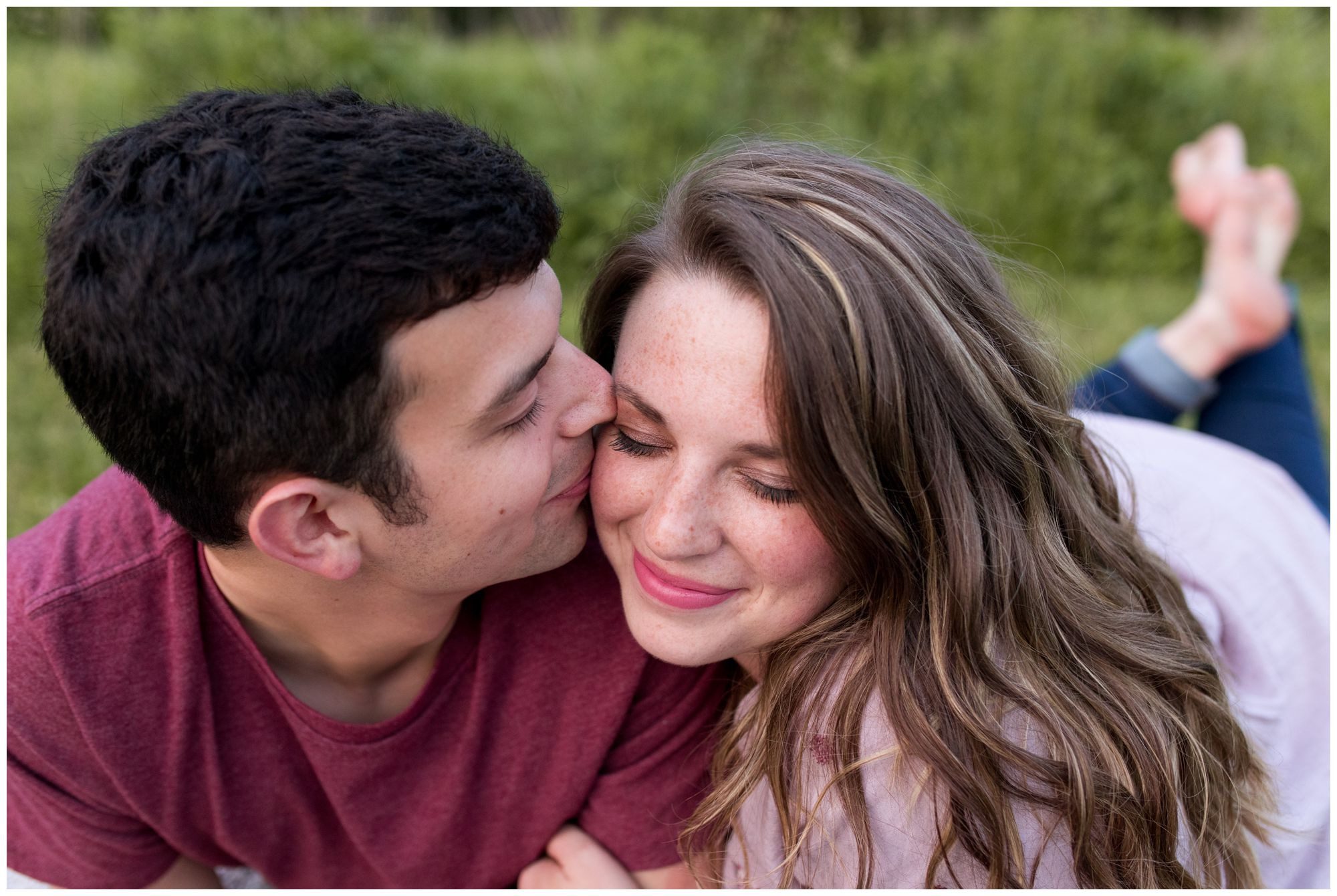 Prophetstown State Park engagement session in Lafayette Indiana