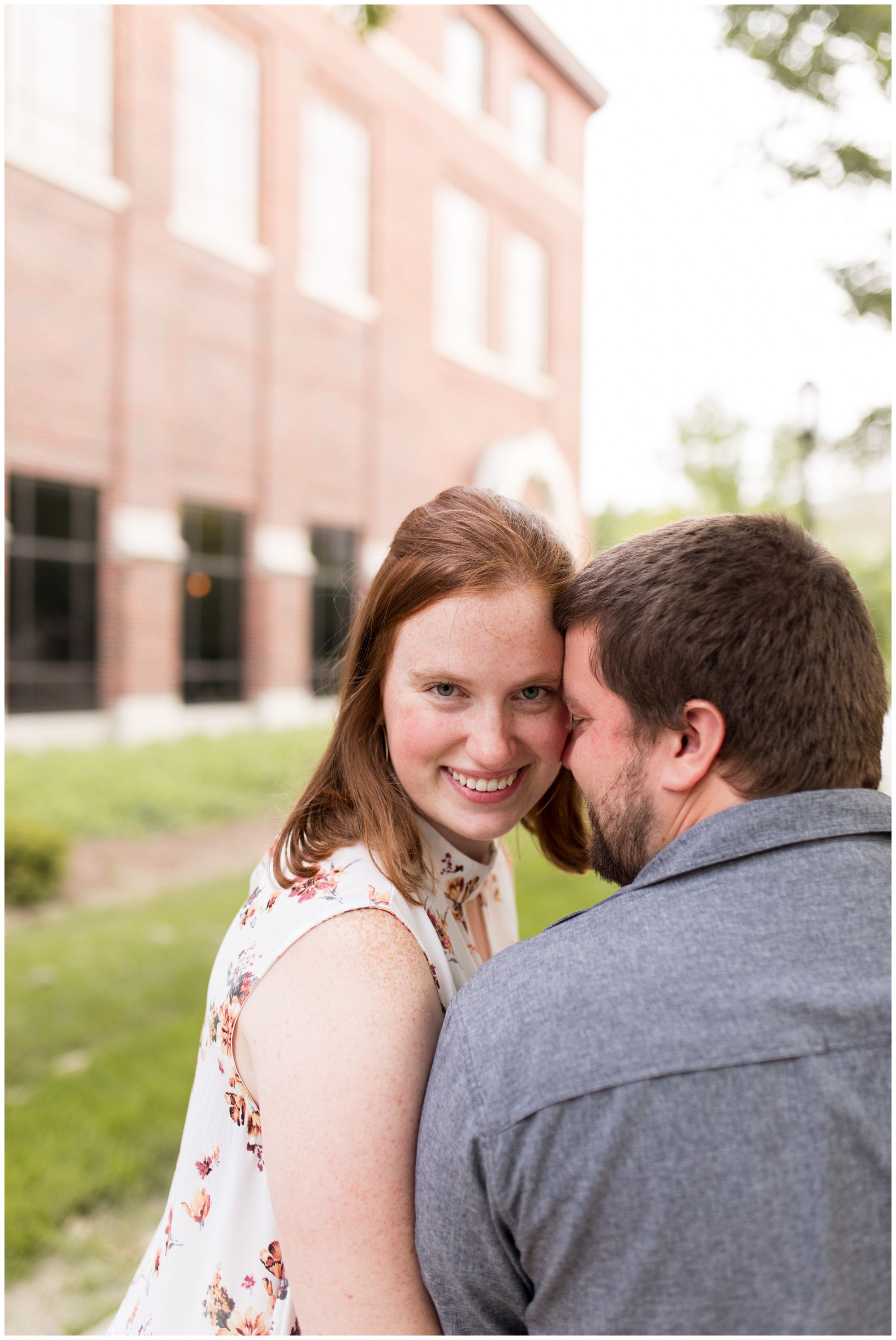 engagement session at Purdue University