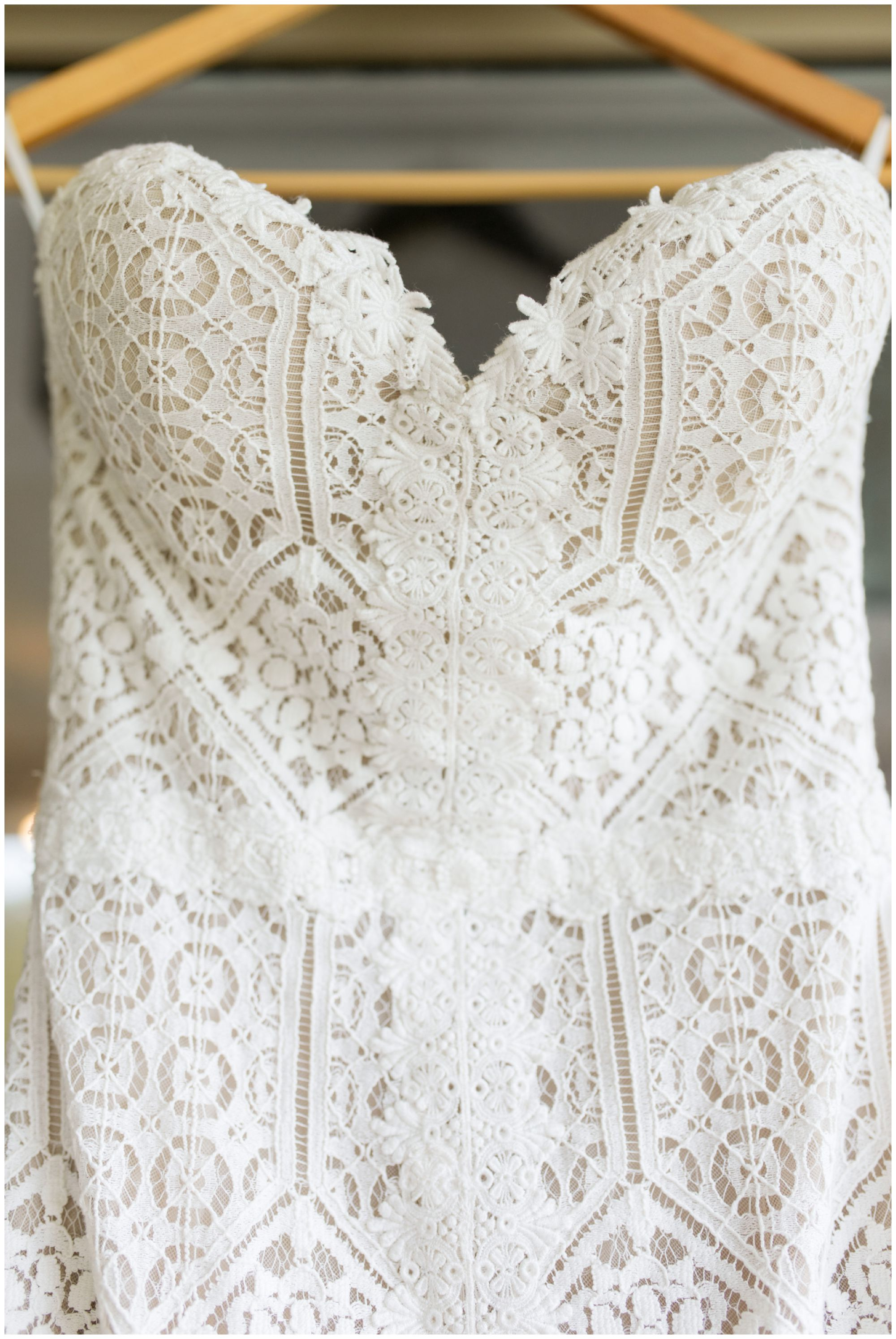 Indianapolis bride's wedding dress from Sophia's Bridal and Tux