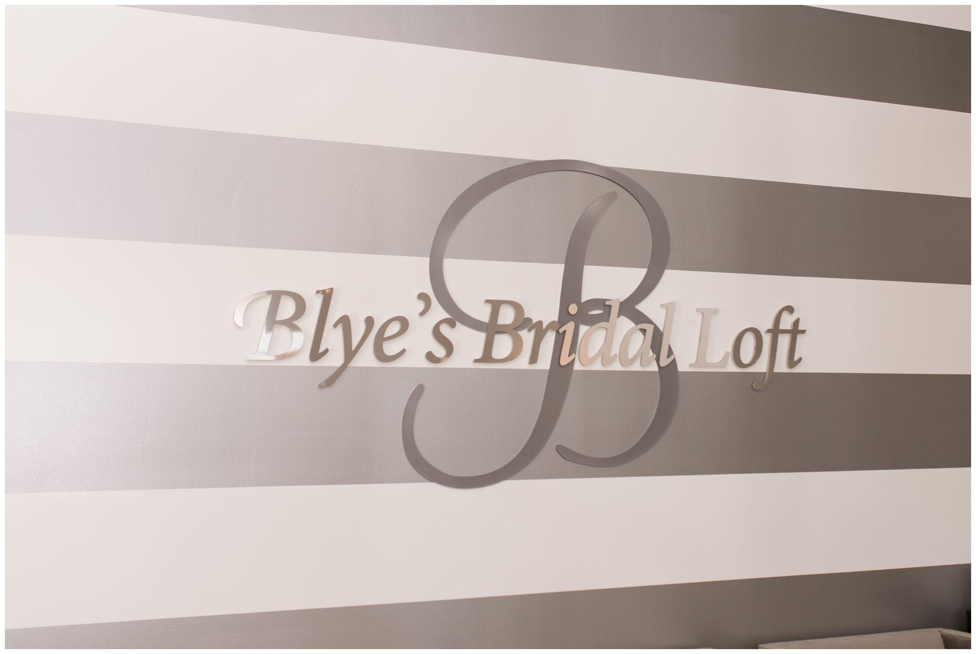 Blye's Bridal Loft in downtown Kokomo Indiana