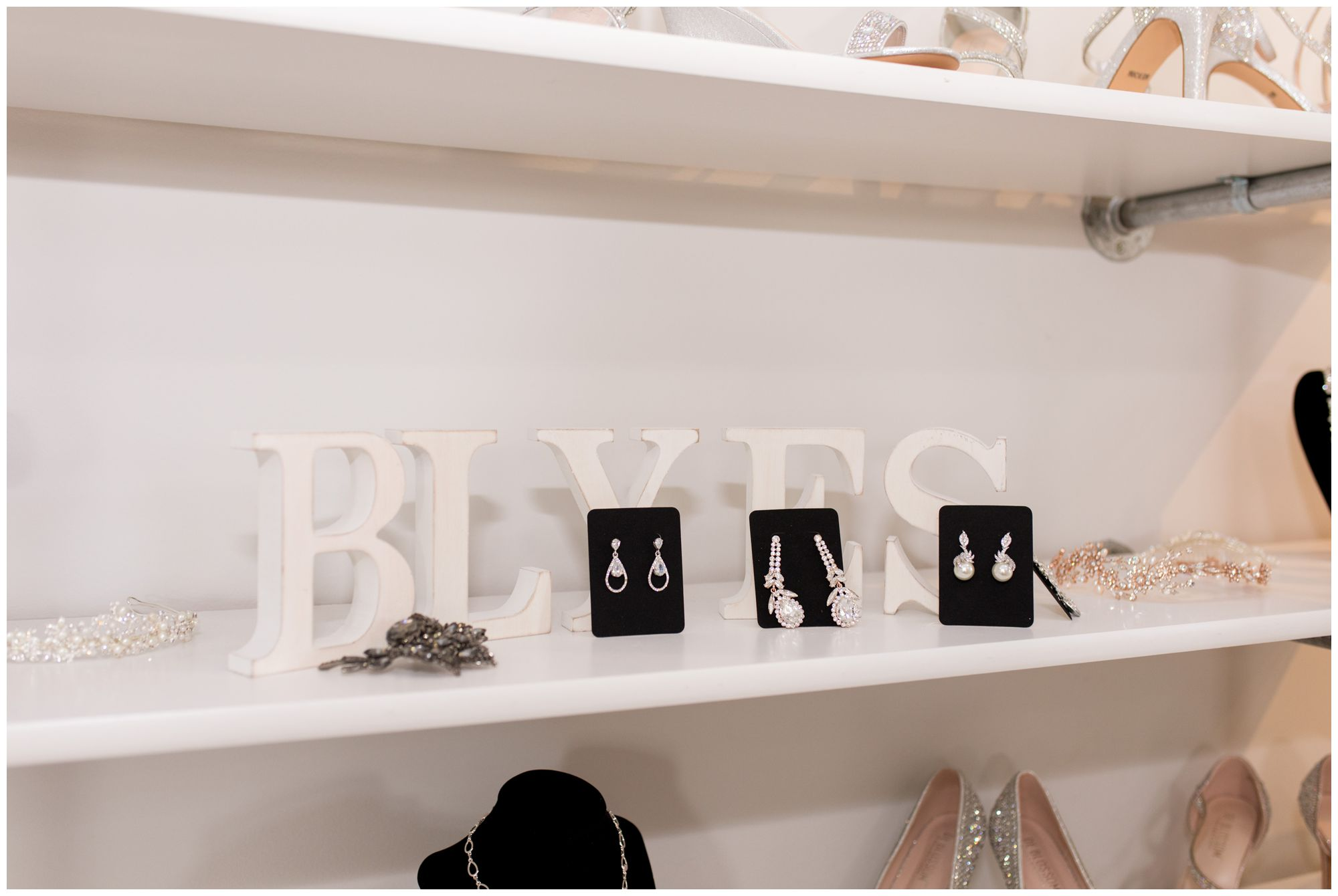 Blye's Bridal accessories
