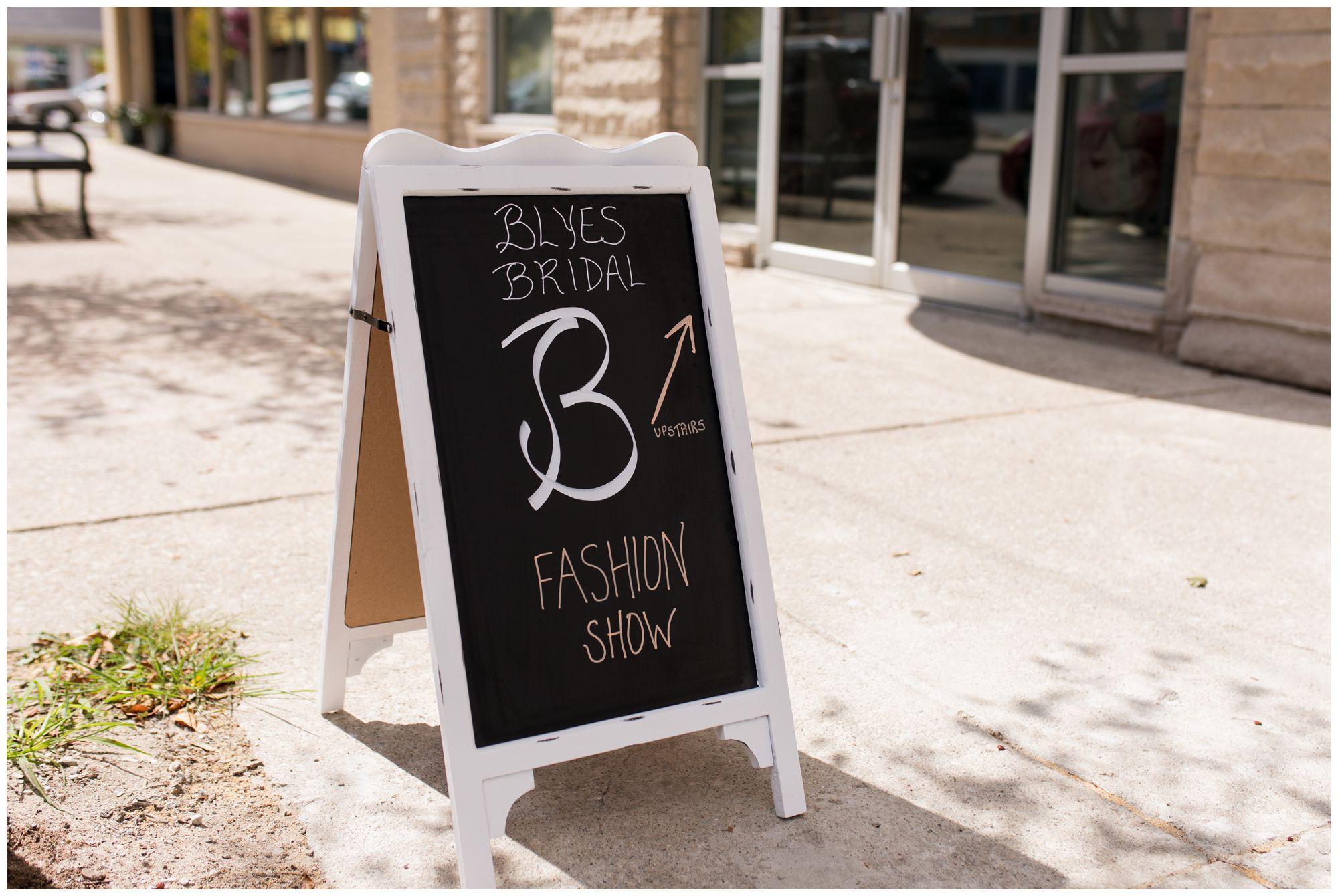 Blye's Bridal fashion show