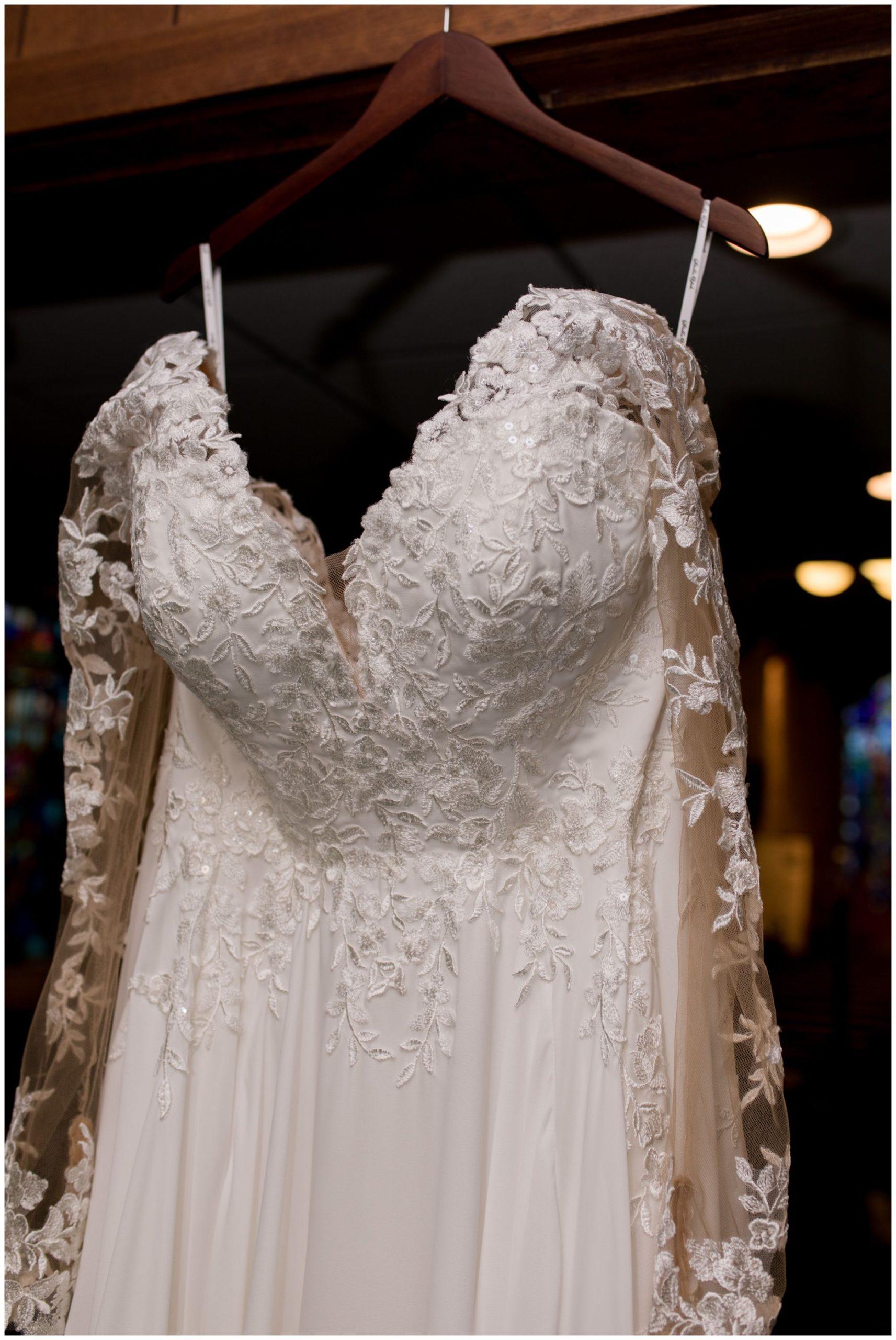bride's wedding dress from The Wedding Studio in Greenwood