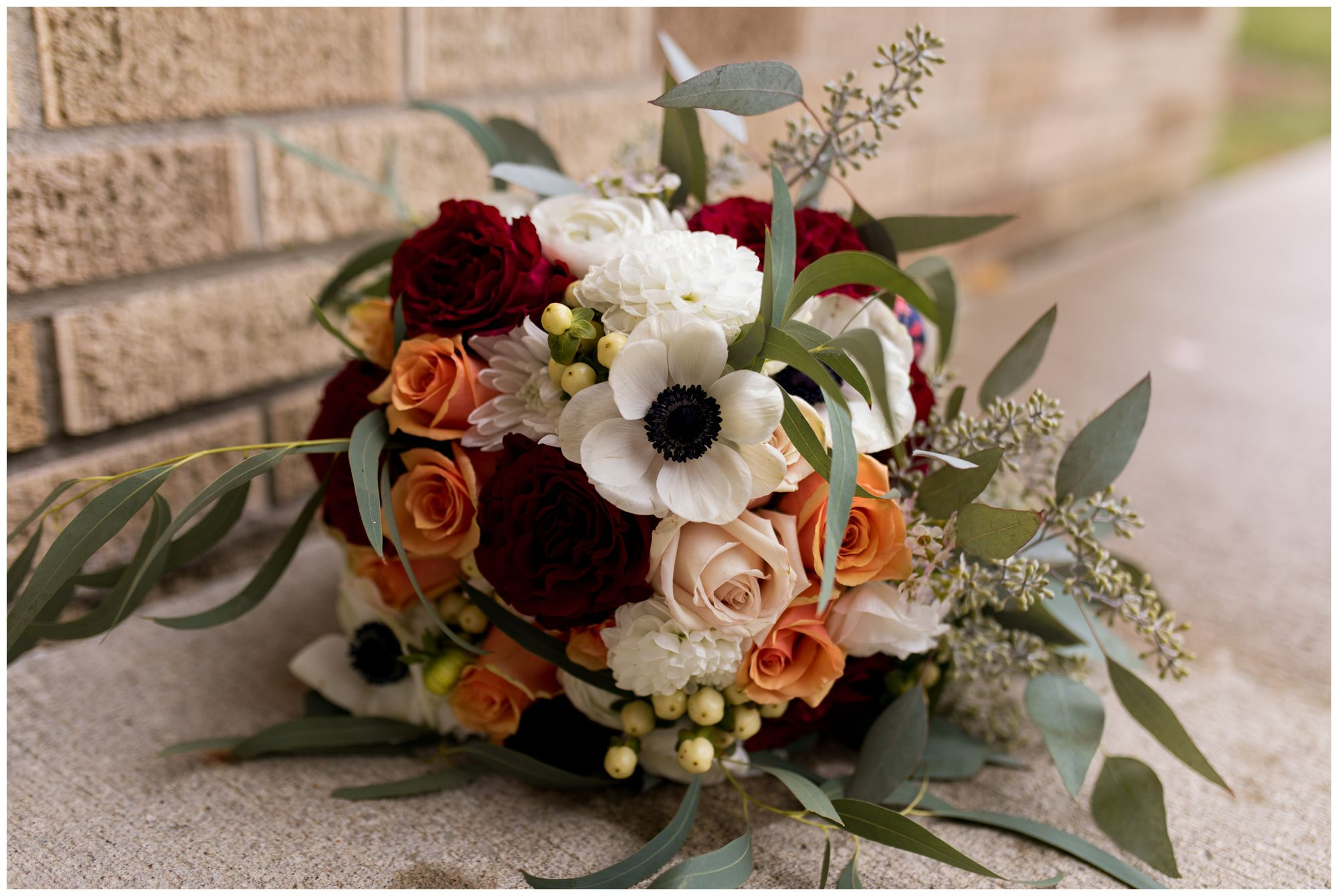 bride's bouquet from The Backway to Wren Floral & Gift Shop