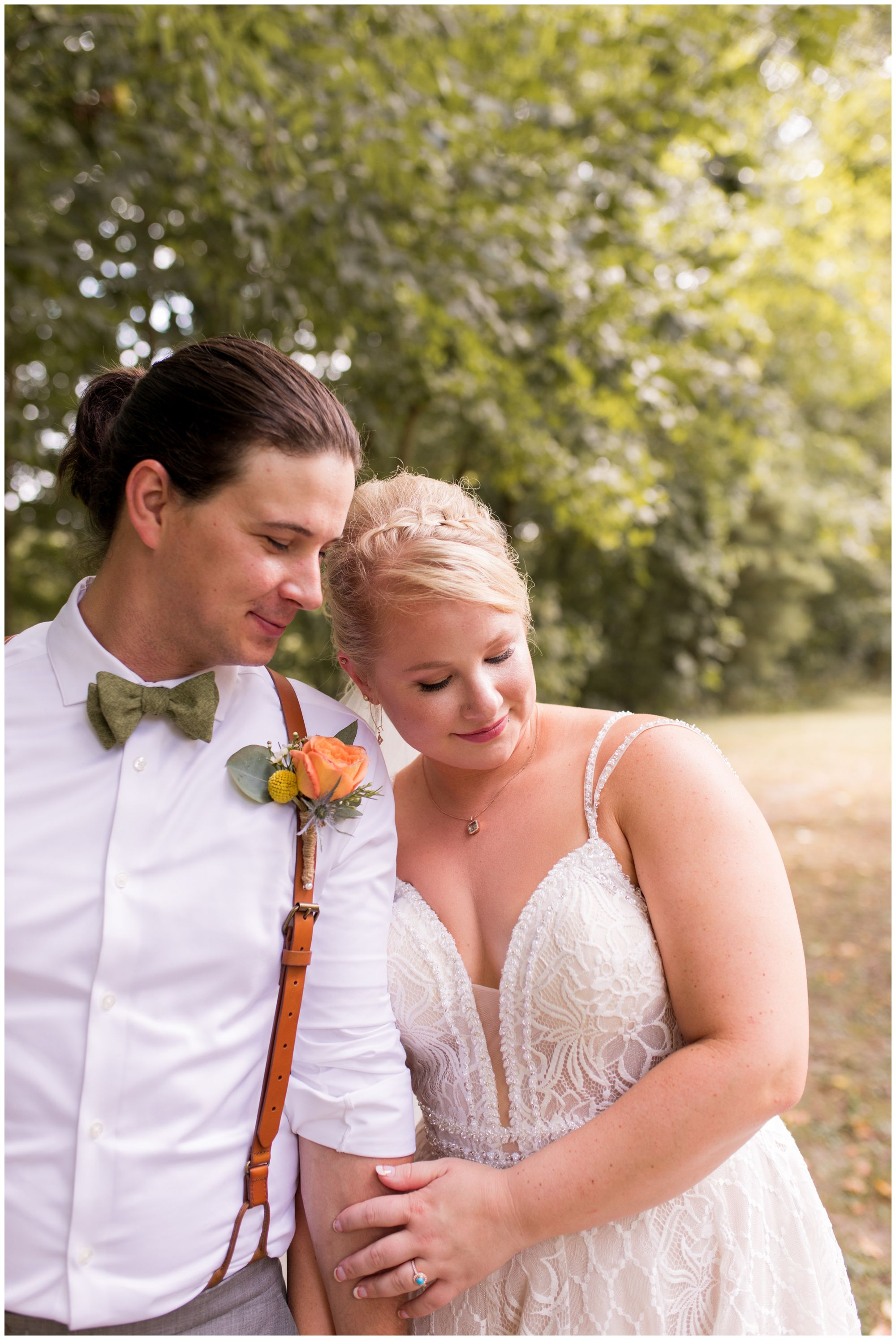 Forest Park wedding photos in Noblesville