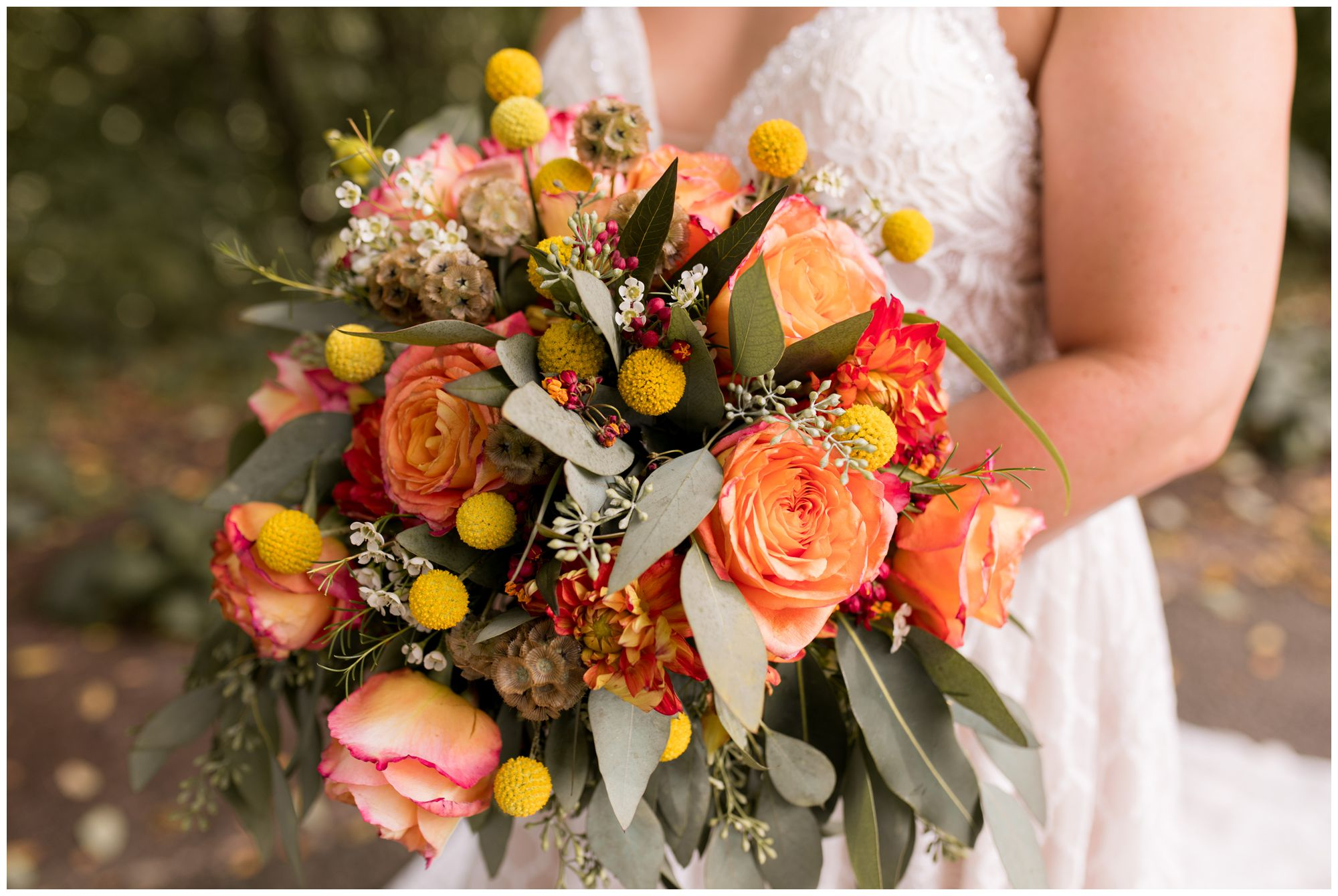 bride's bouquet from Ayers Flowers in Indianapolis