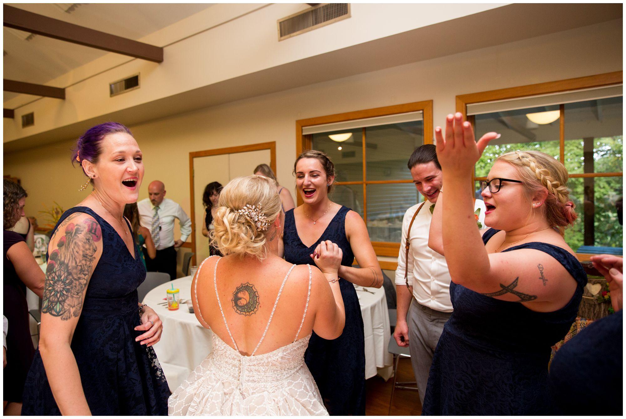 Forest Park Inn wedding reception
