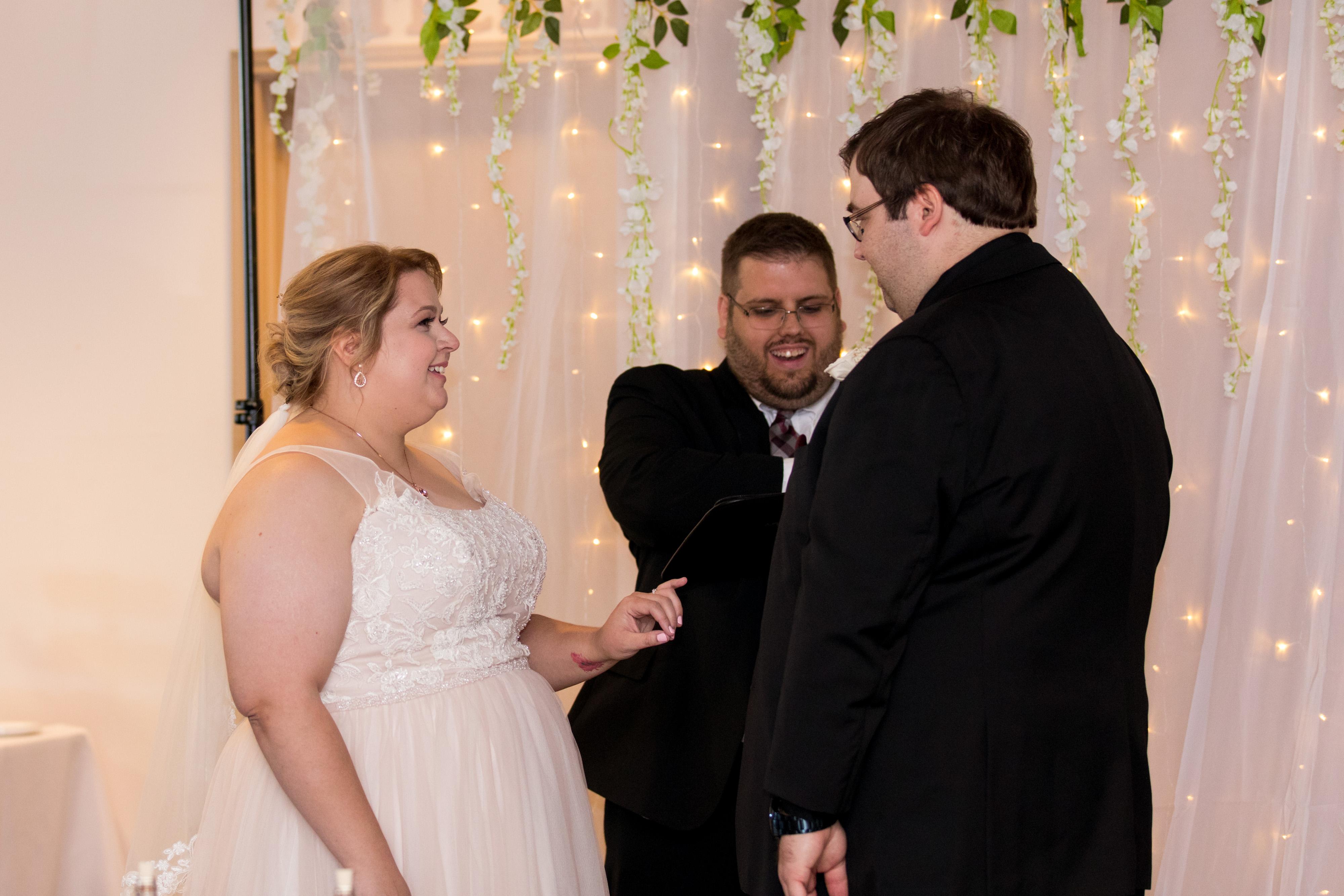 Kokomo Indiana wedding ceremony