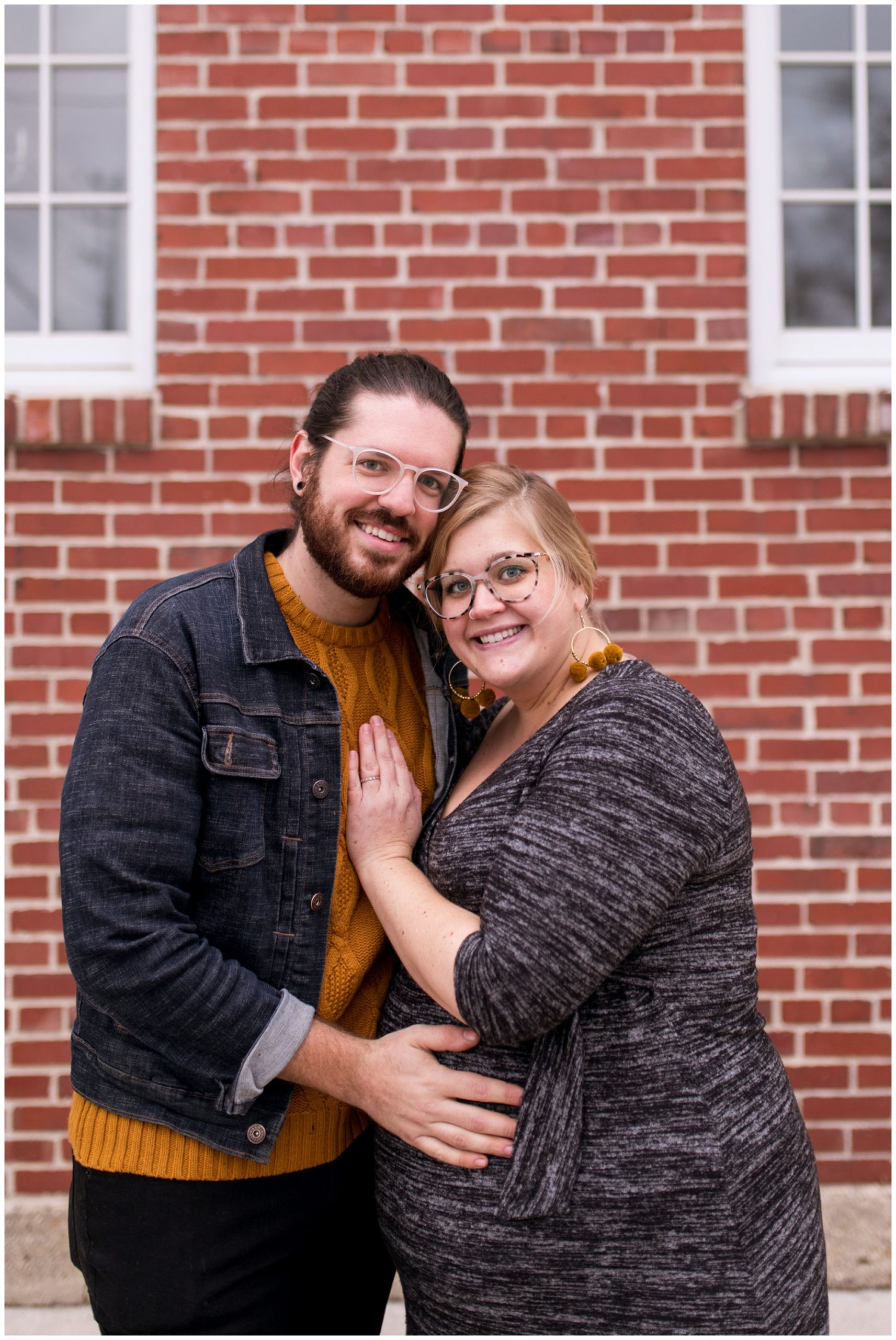 Tinker House Indy maternity session