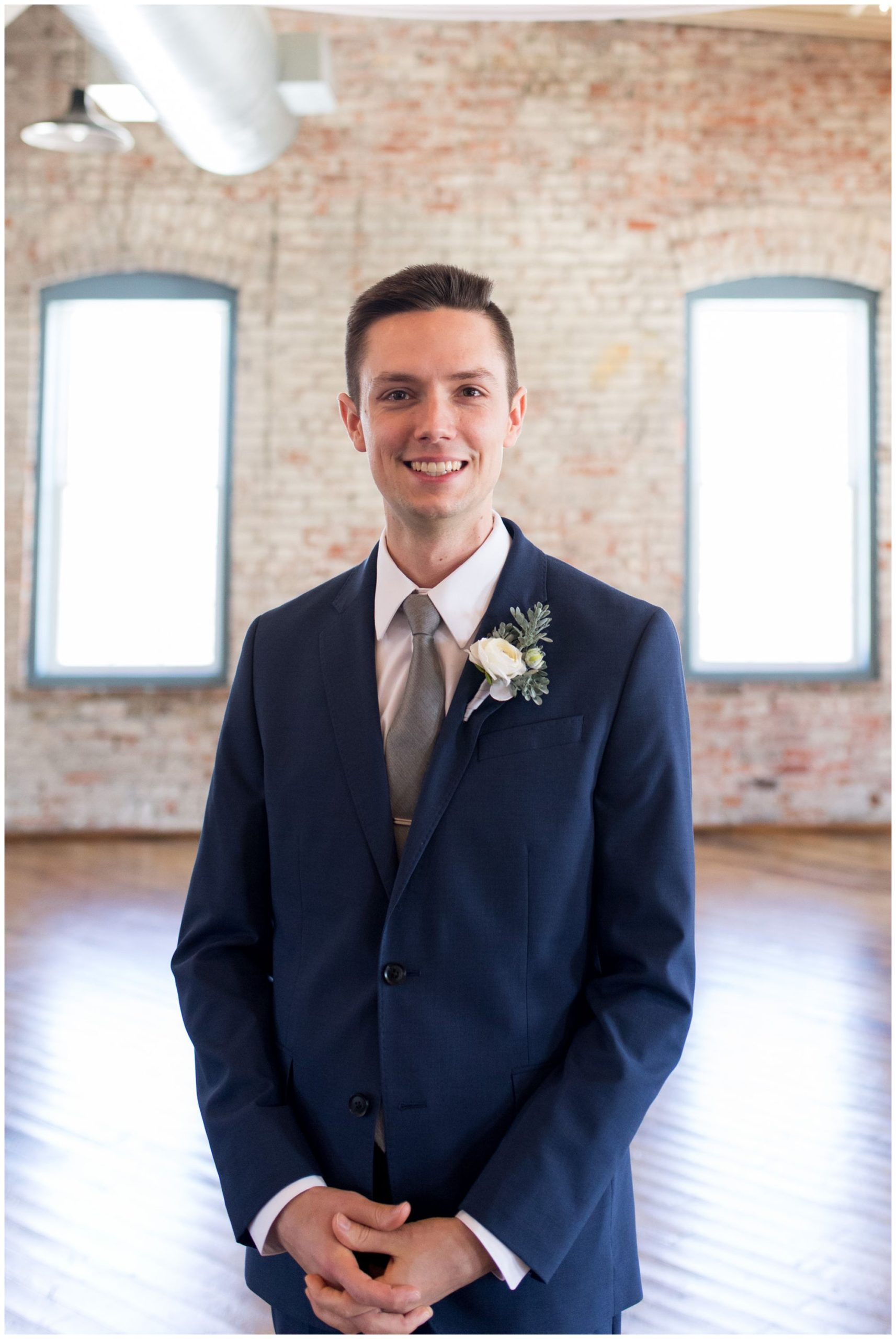 groom portraits at Bread & Chocolate in Goshen