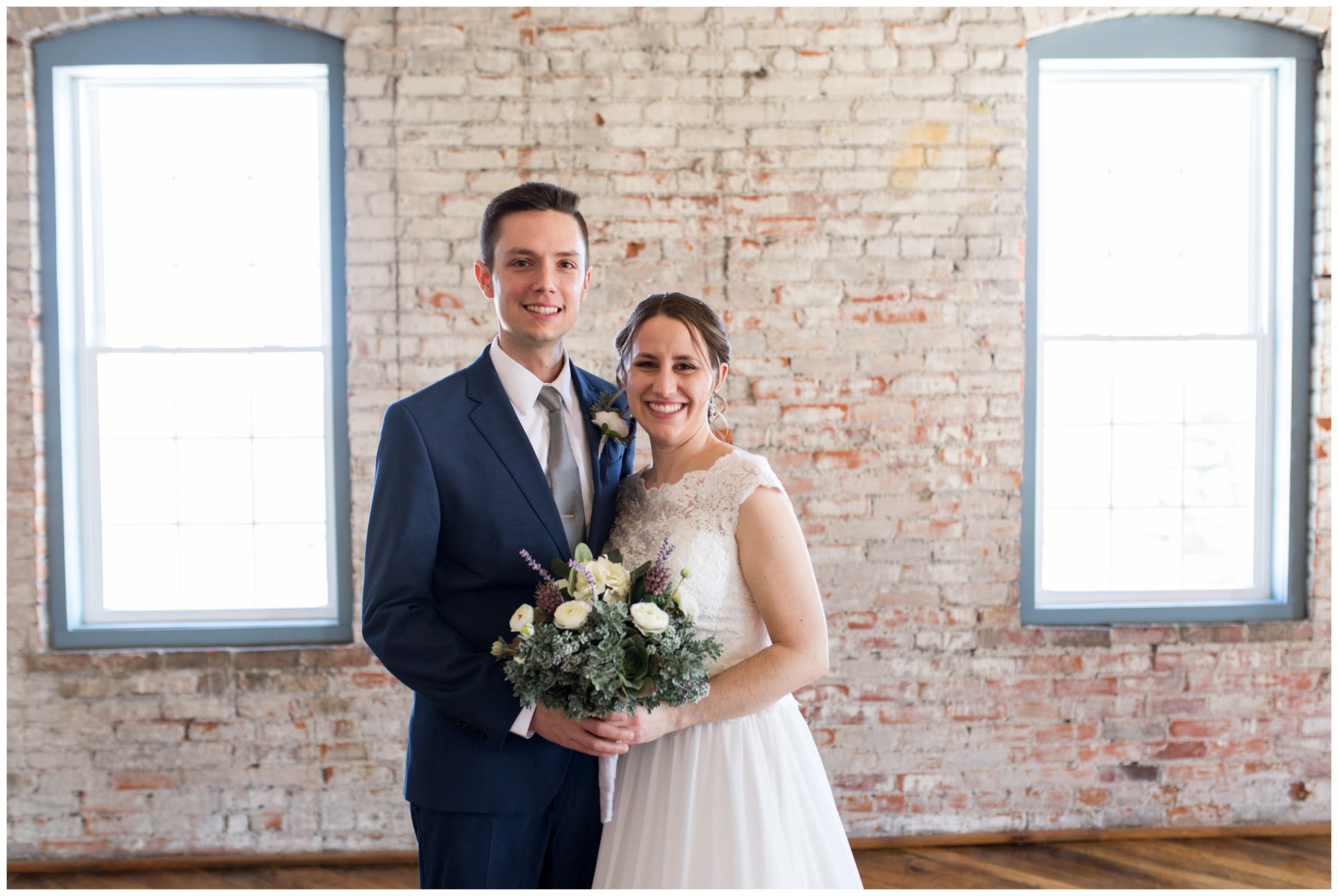 Goshen bride and groom wedding photos at Bread & Chocolate