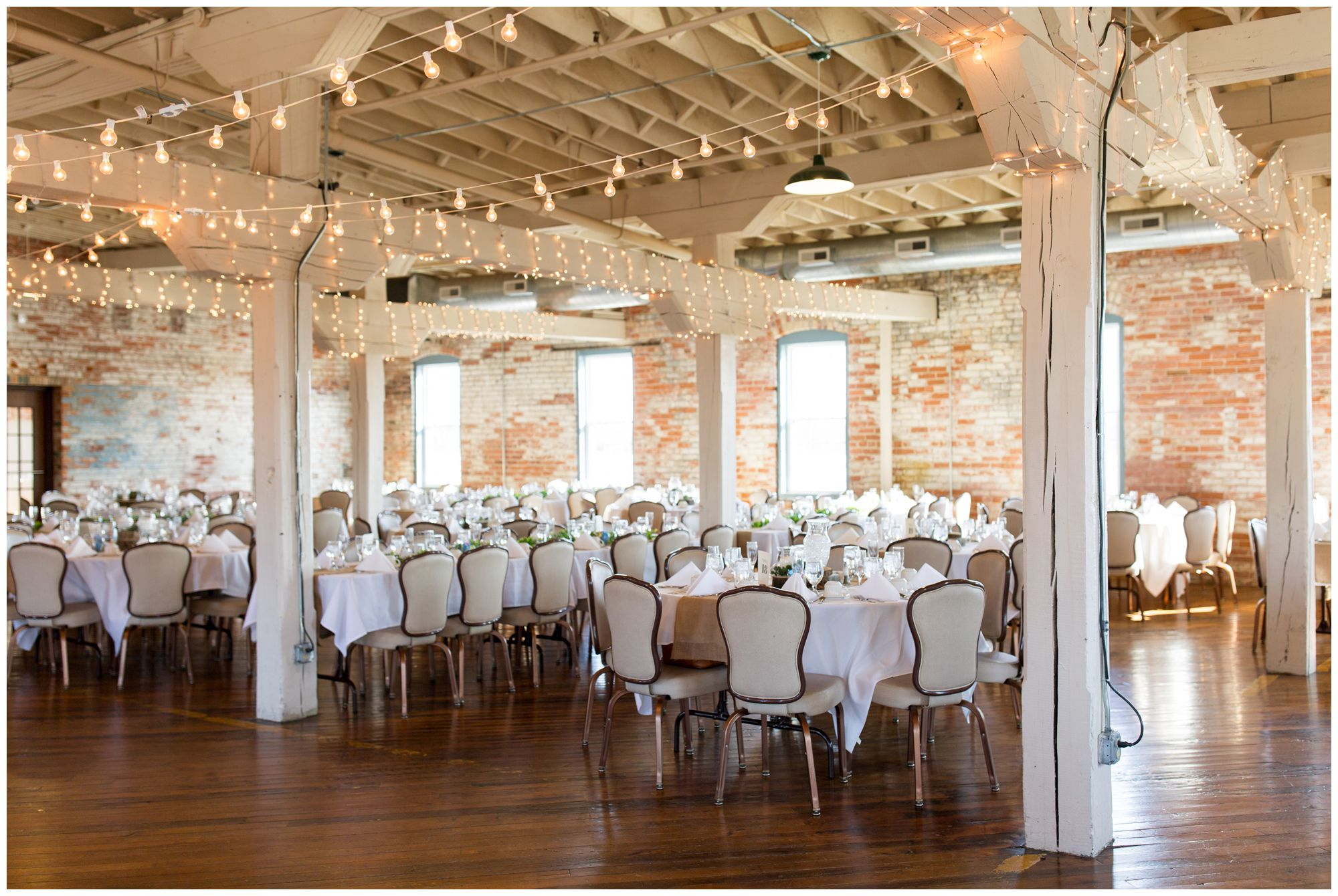 Bread & Chocolate industrial wedding reception