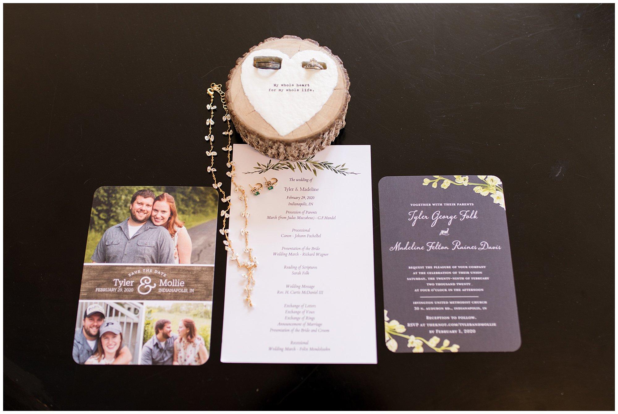 Indianapolis wedding details