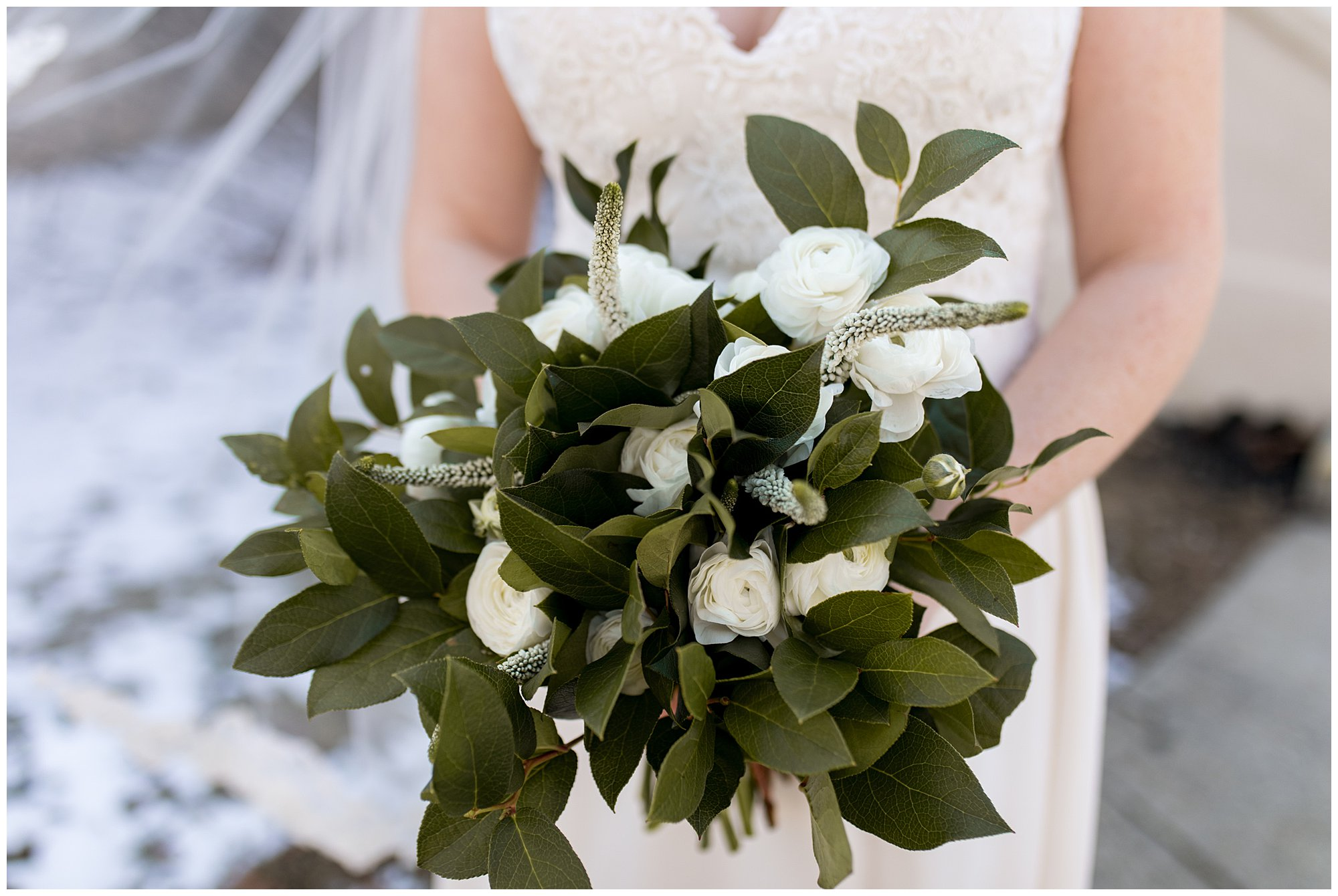 closeup of bride's bouquet from The Flower Boys