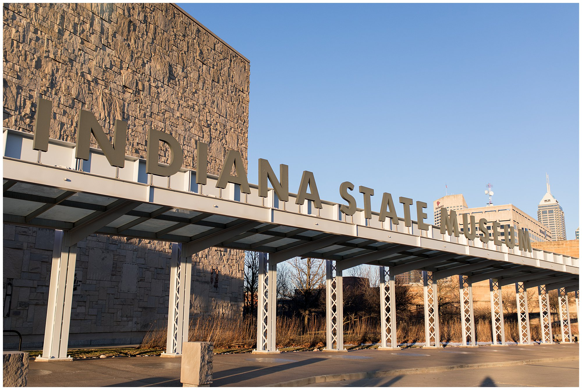 Indiana State Museum entrance