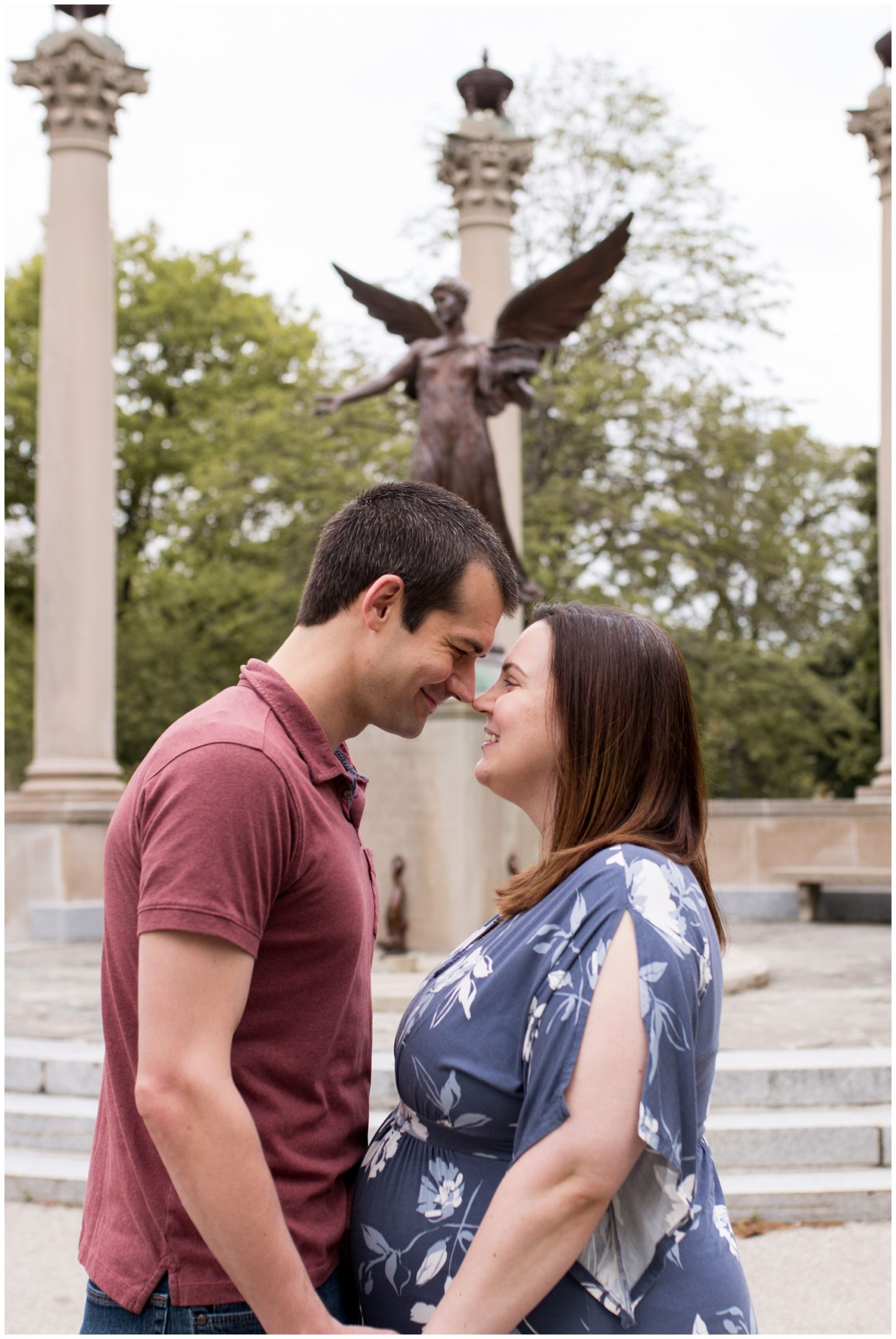 Ball State University maternity session