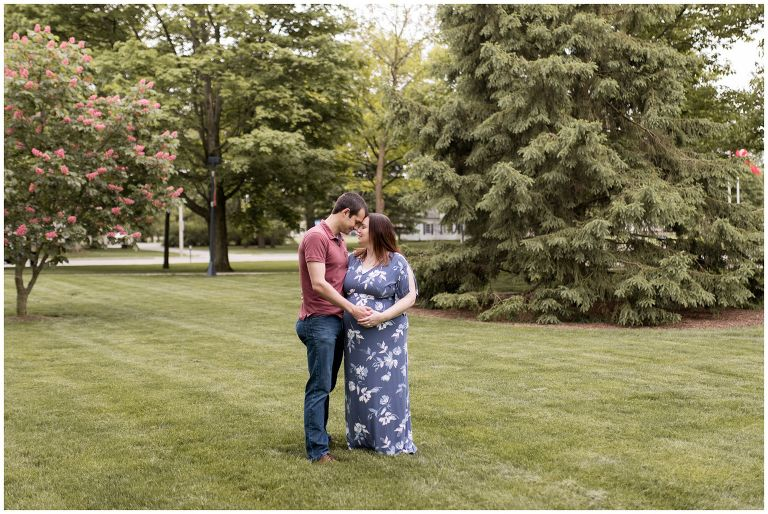 Ball State University maternity session in Muncie Indiana