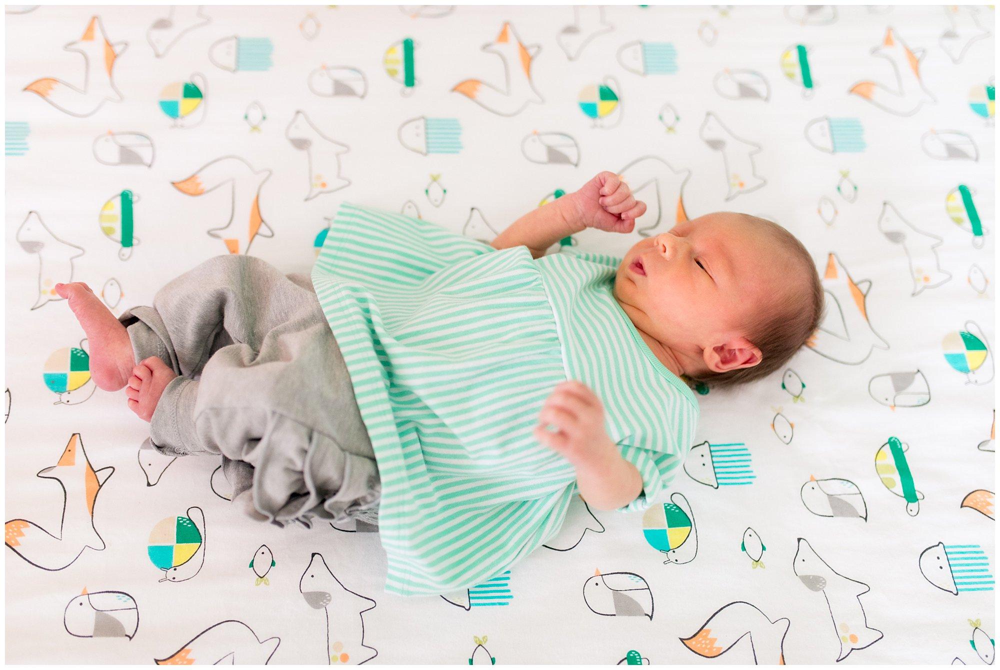 newborn baby during Muncie Indiana newborn session