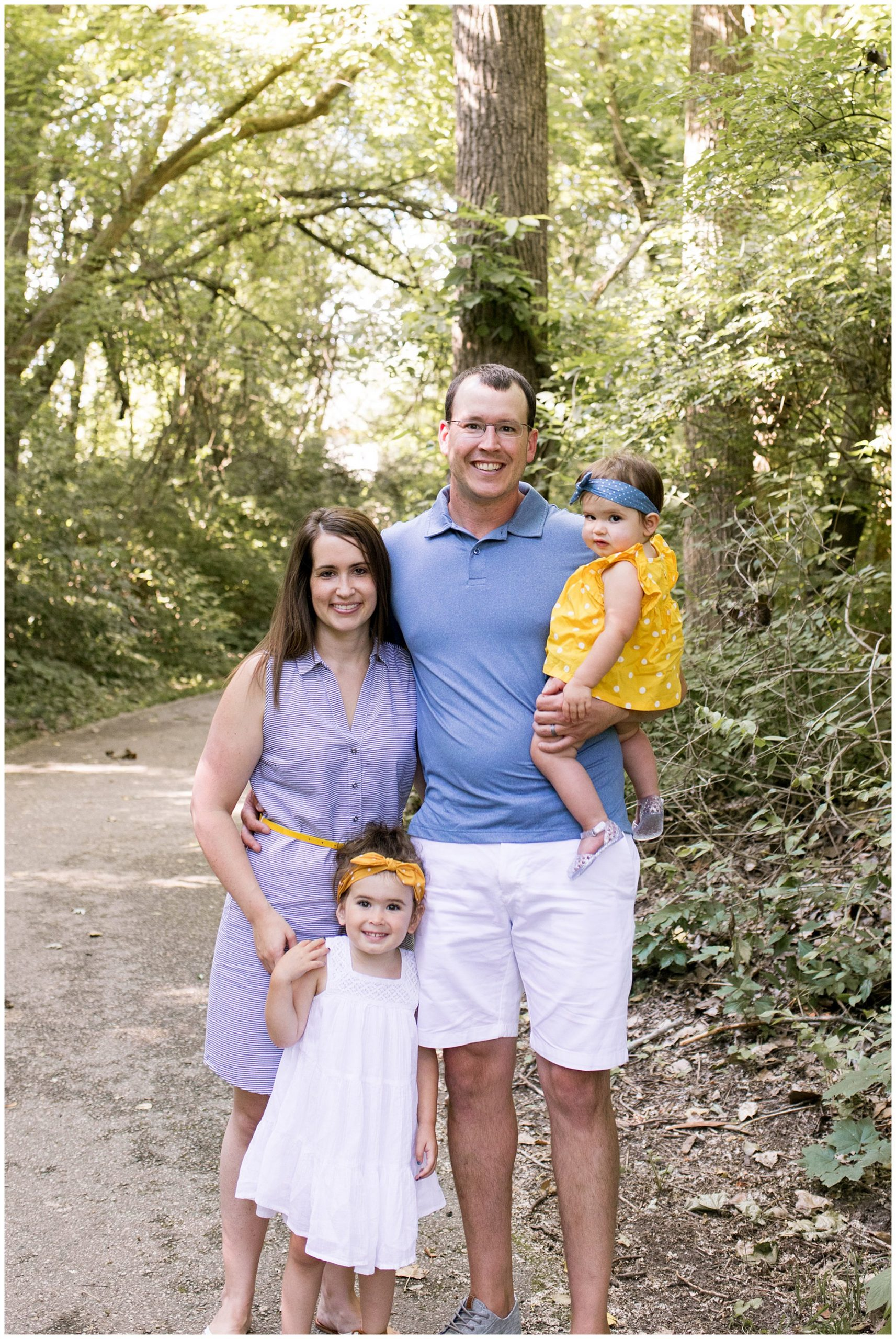 Northwest Park Annex family session in Greenwood Indiana