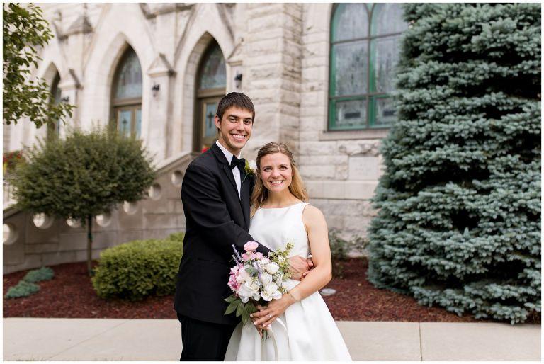 St. Patrick Church wedding Kokomo Indiana
