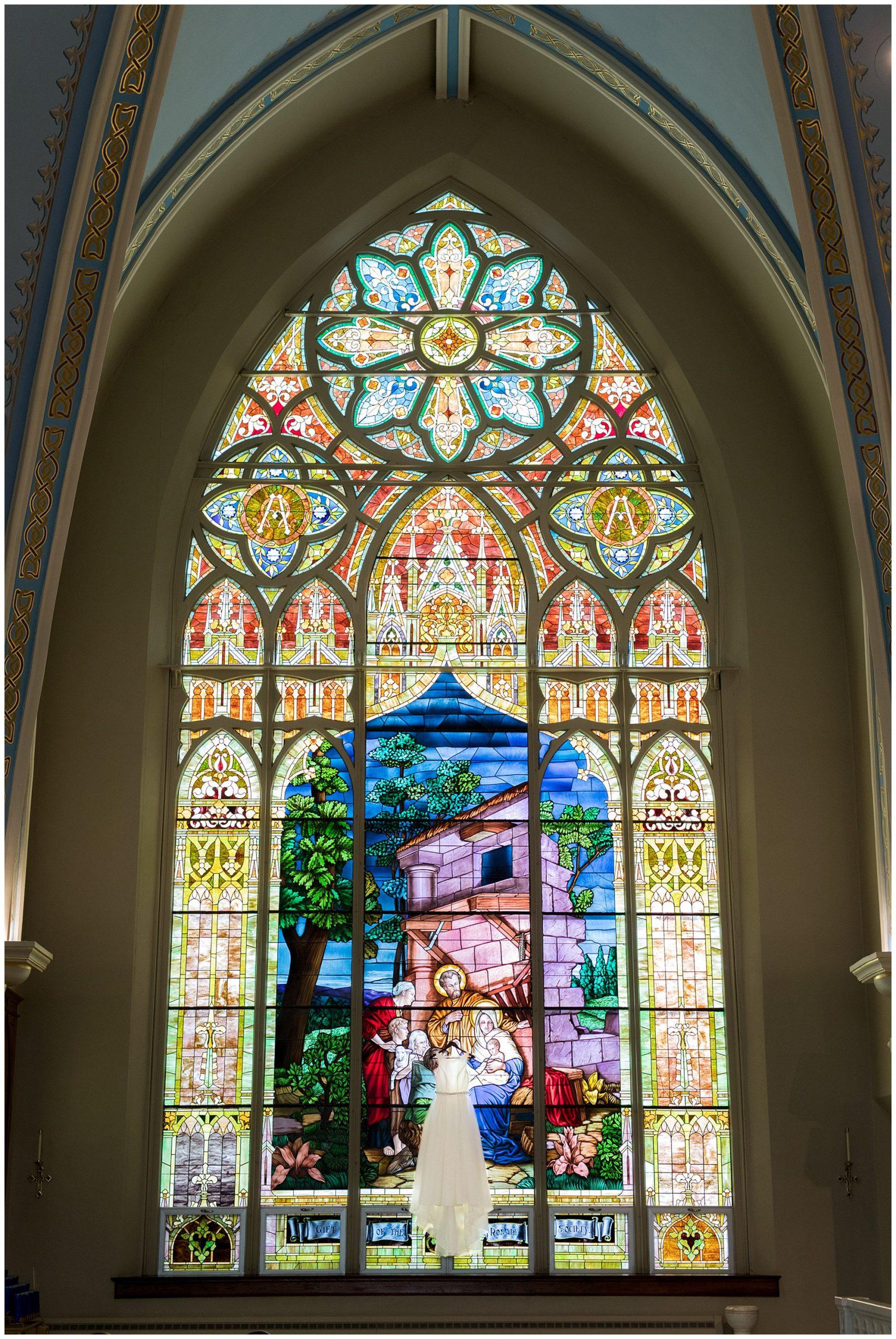 St. Patrick Church Kokomo stained glass window